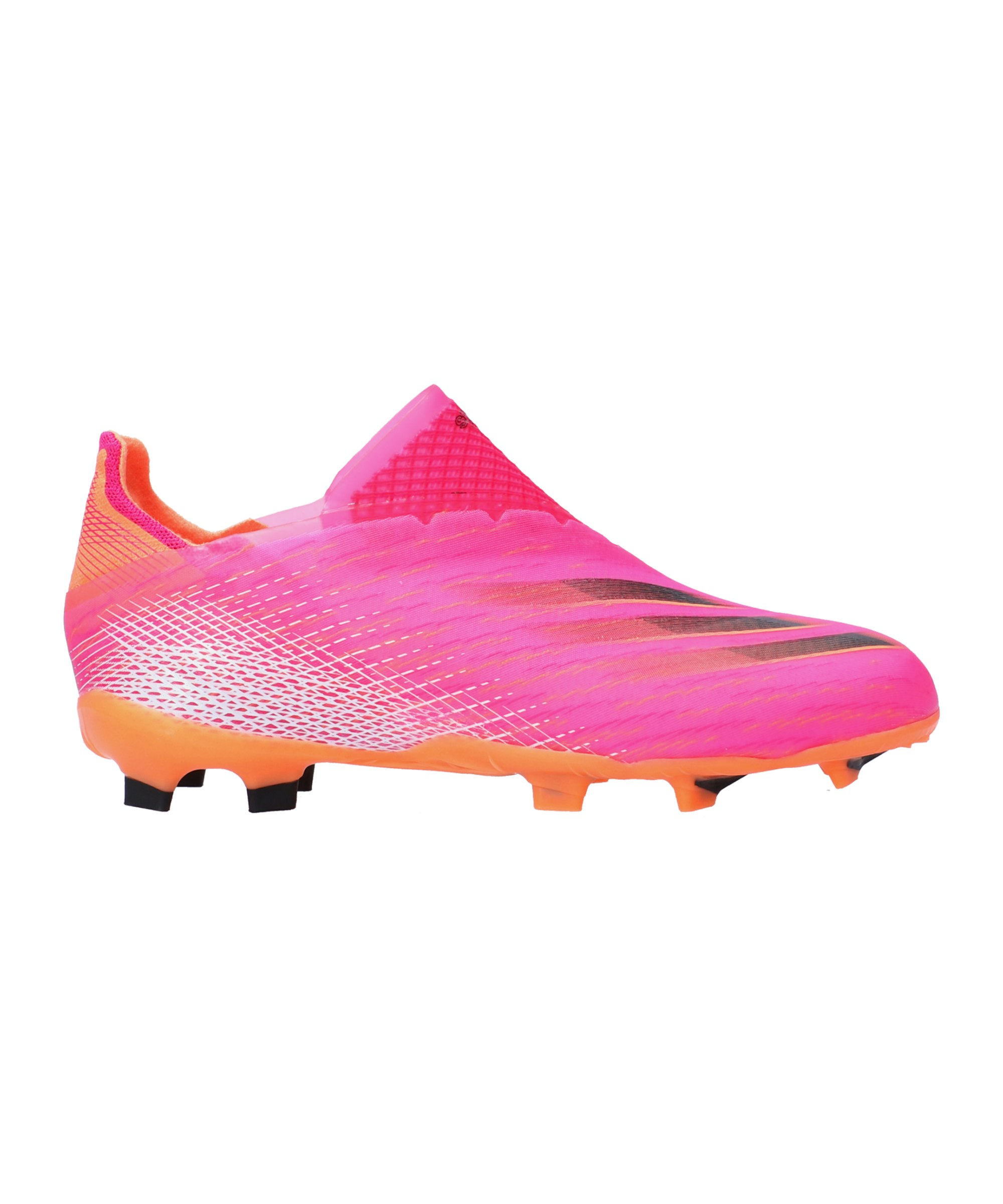adidas X GHOSTED+ FG Superspectral J Kids Pink Schwarz Orange - pink