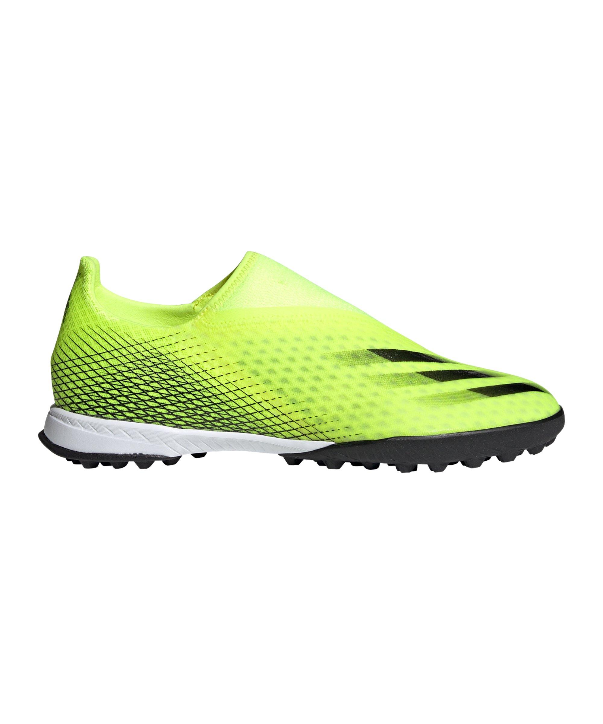 adidas X GHOSTED.3 LL TF Superlative Gelb Schwarz - gelb