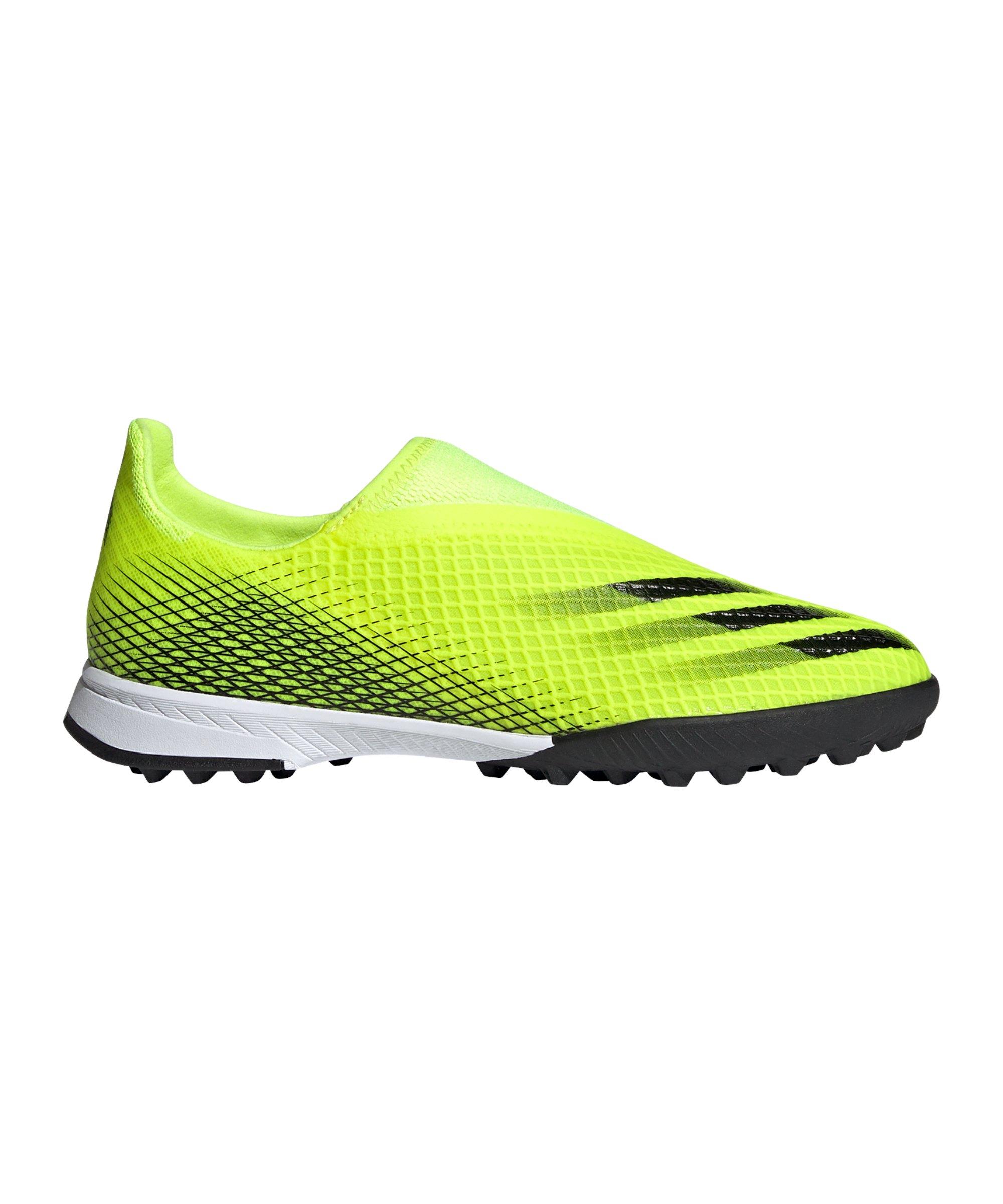 adidas X GHOSTED.3 LL TF Superlative J Kids Gelb Schwarz - gelb