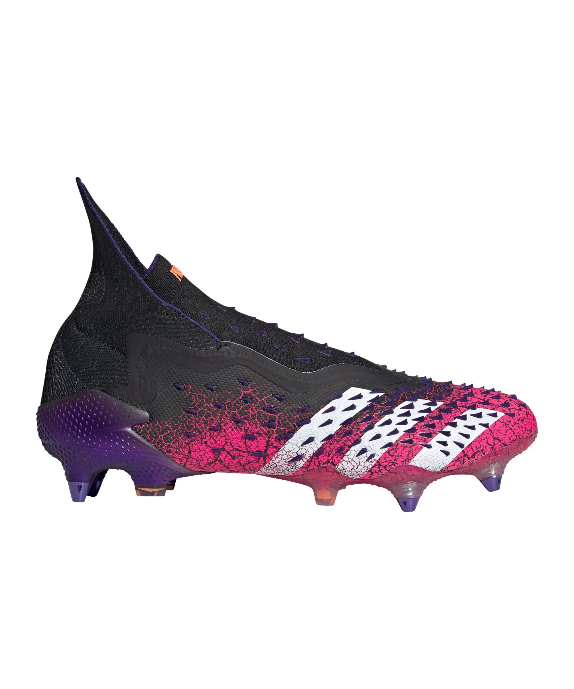 adidas Predator FREAK+ SG Superspectral Schwarz Weiss Pink - schwarz