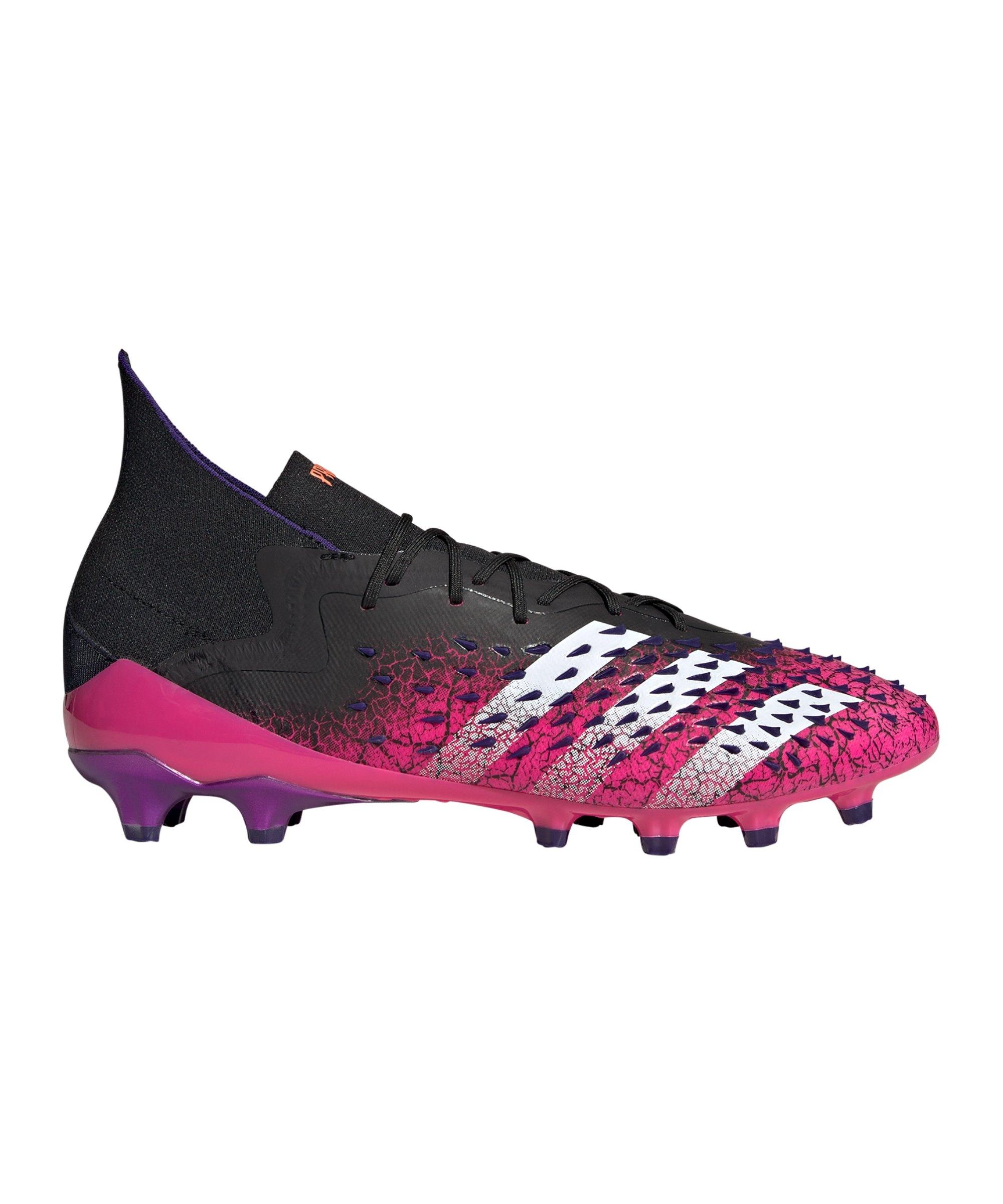 adidas Predator FREAK.1 AG Superspectral Schwarz Weiss Pink - schwarz