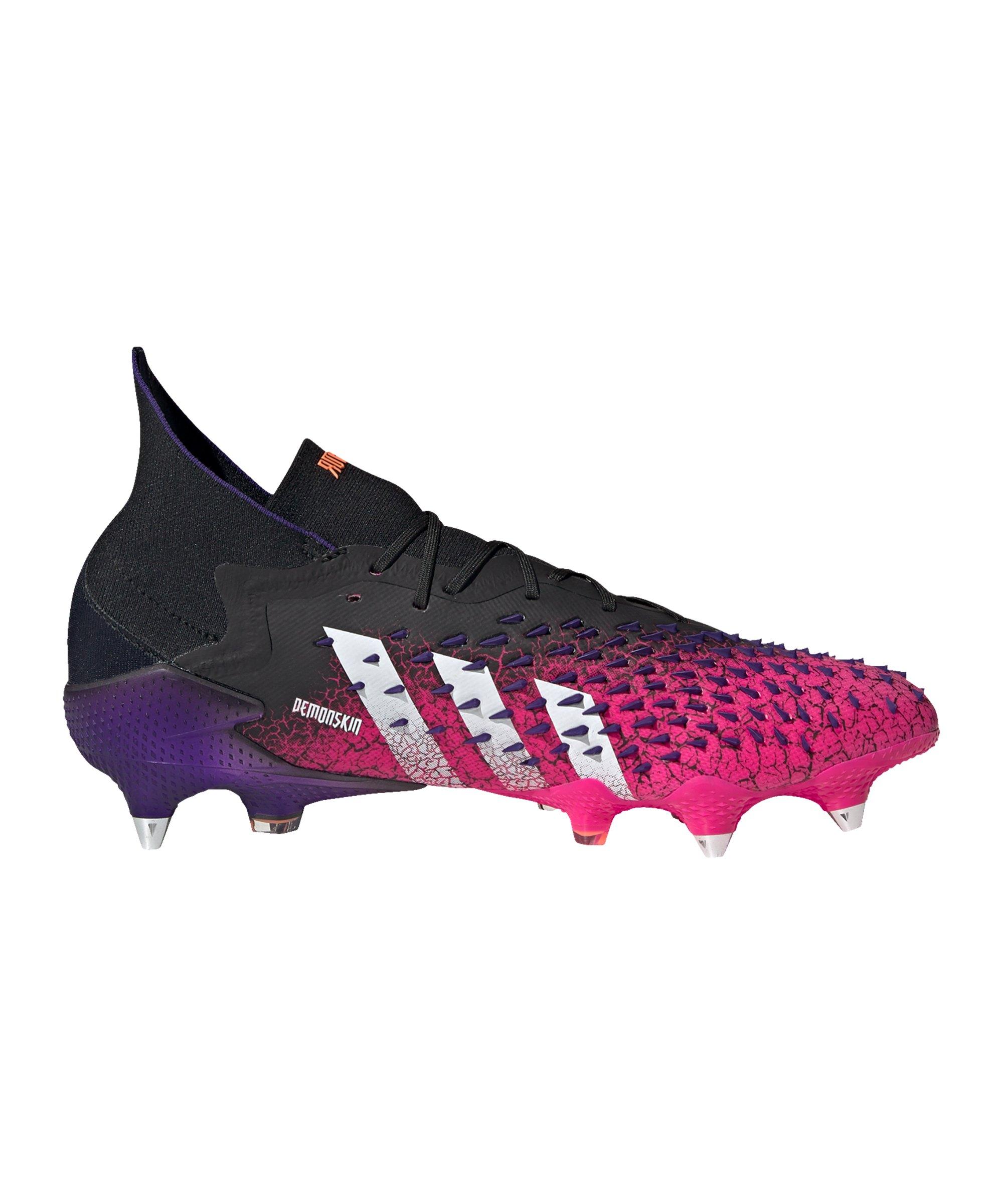 adidas Predator FREAK.1 SG Superspectral Schwarz Weiss Pink - schwarz