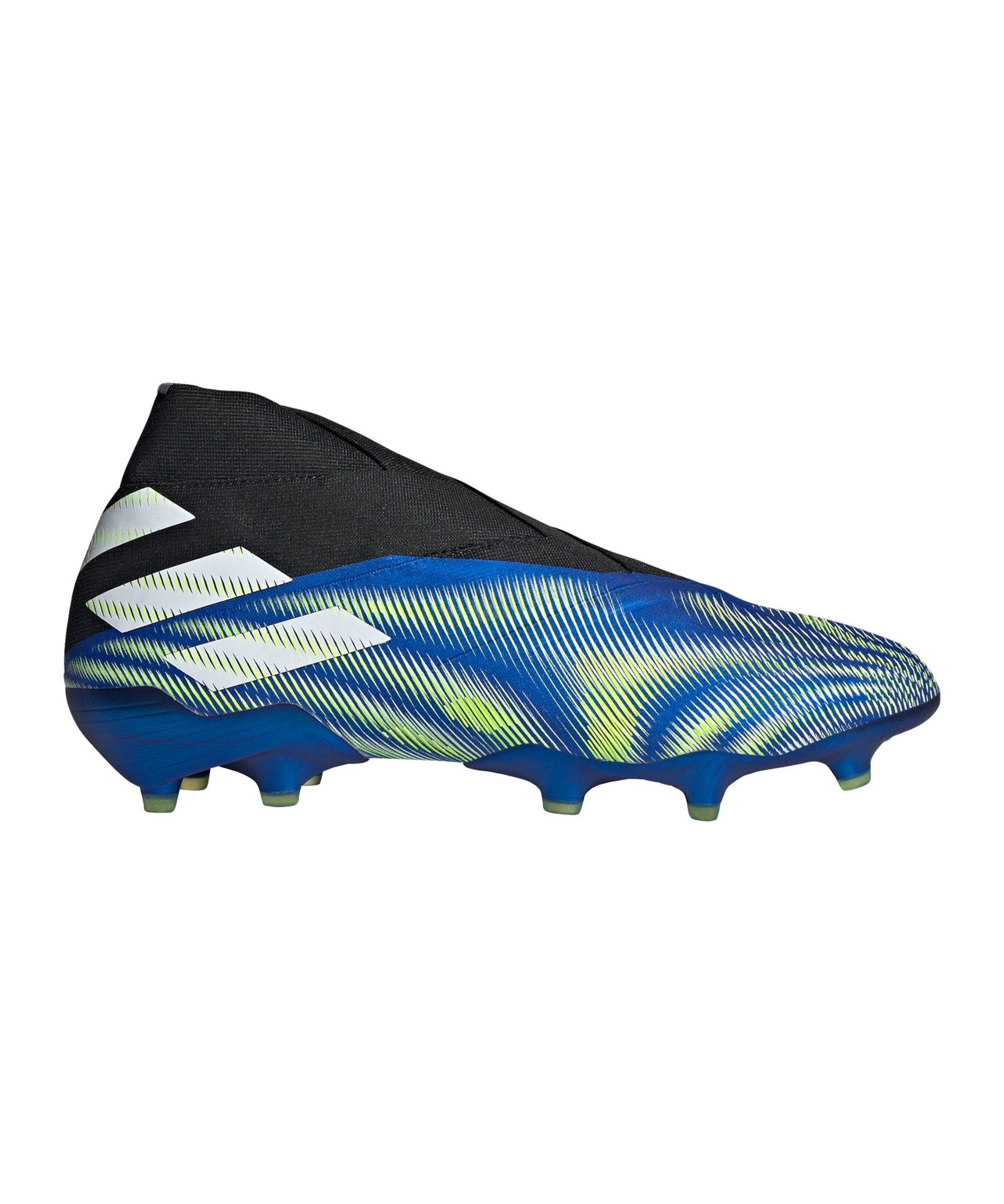adidas NEMEZIZ+ FG Superlative Blau Weiss - blau