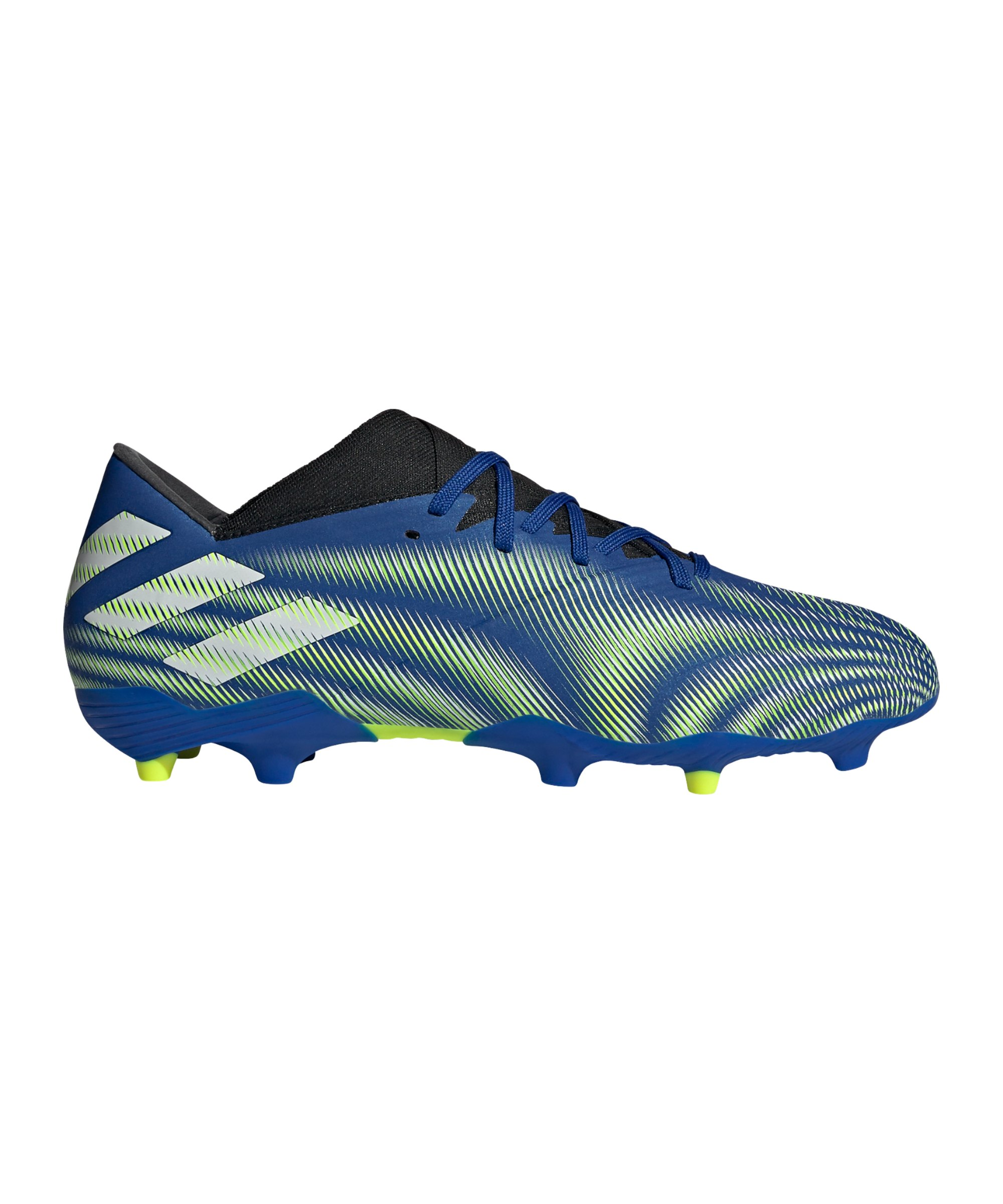 adidas NEMEZIZ.2 FG Superlative Blau Gelb Weiss - blau