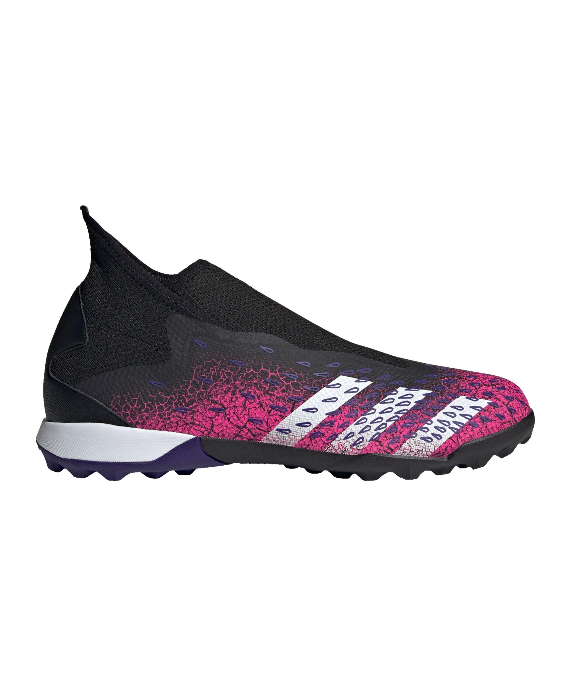 adidas Predator FREAK.3 LL TF Superspectral Schwarz Weiss Pink - schwarz