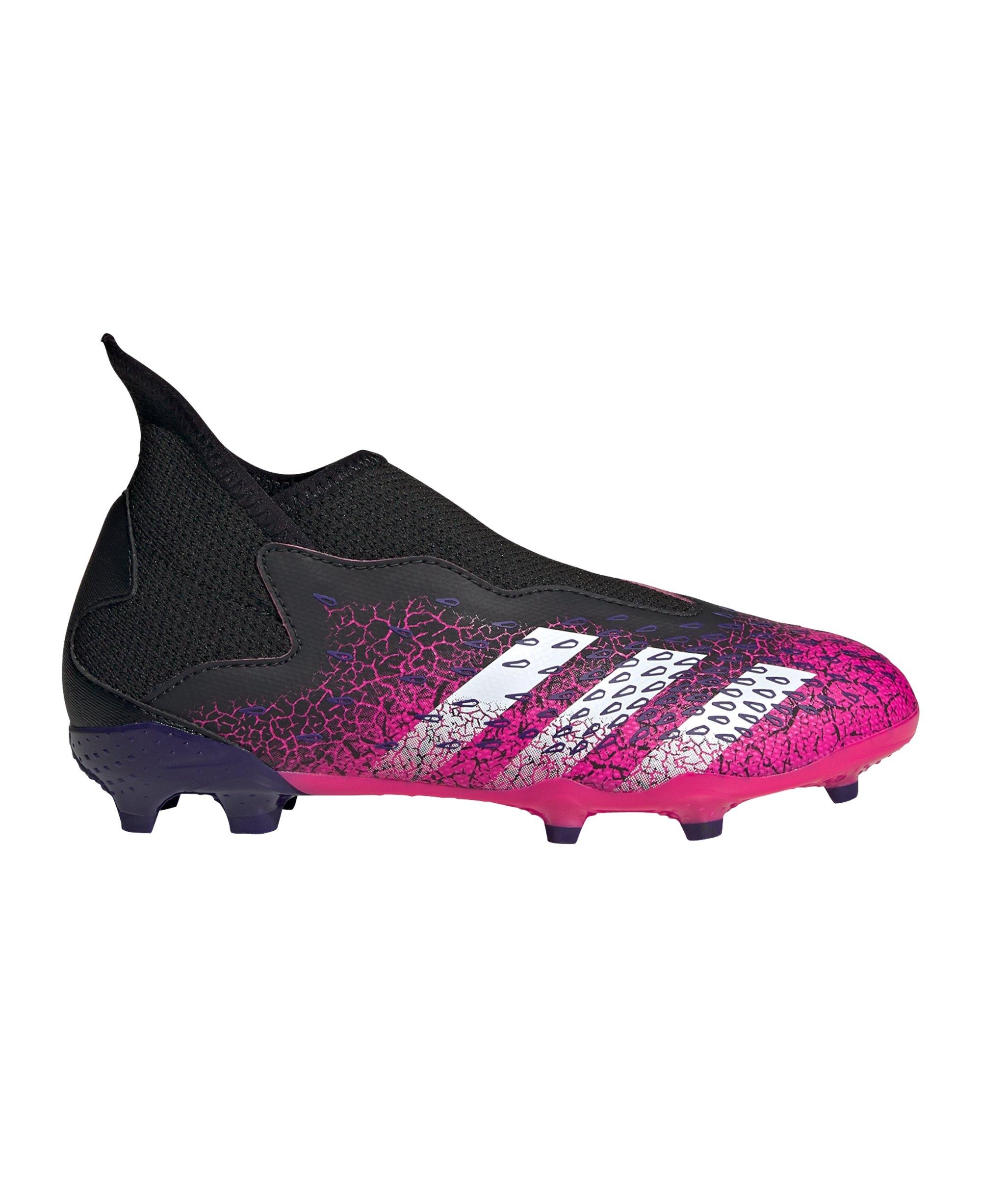 adidas Predator FREAK.3 LL FG Superspectral J Kids Schwarz Pink - schwarz