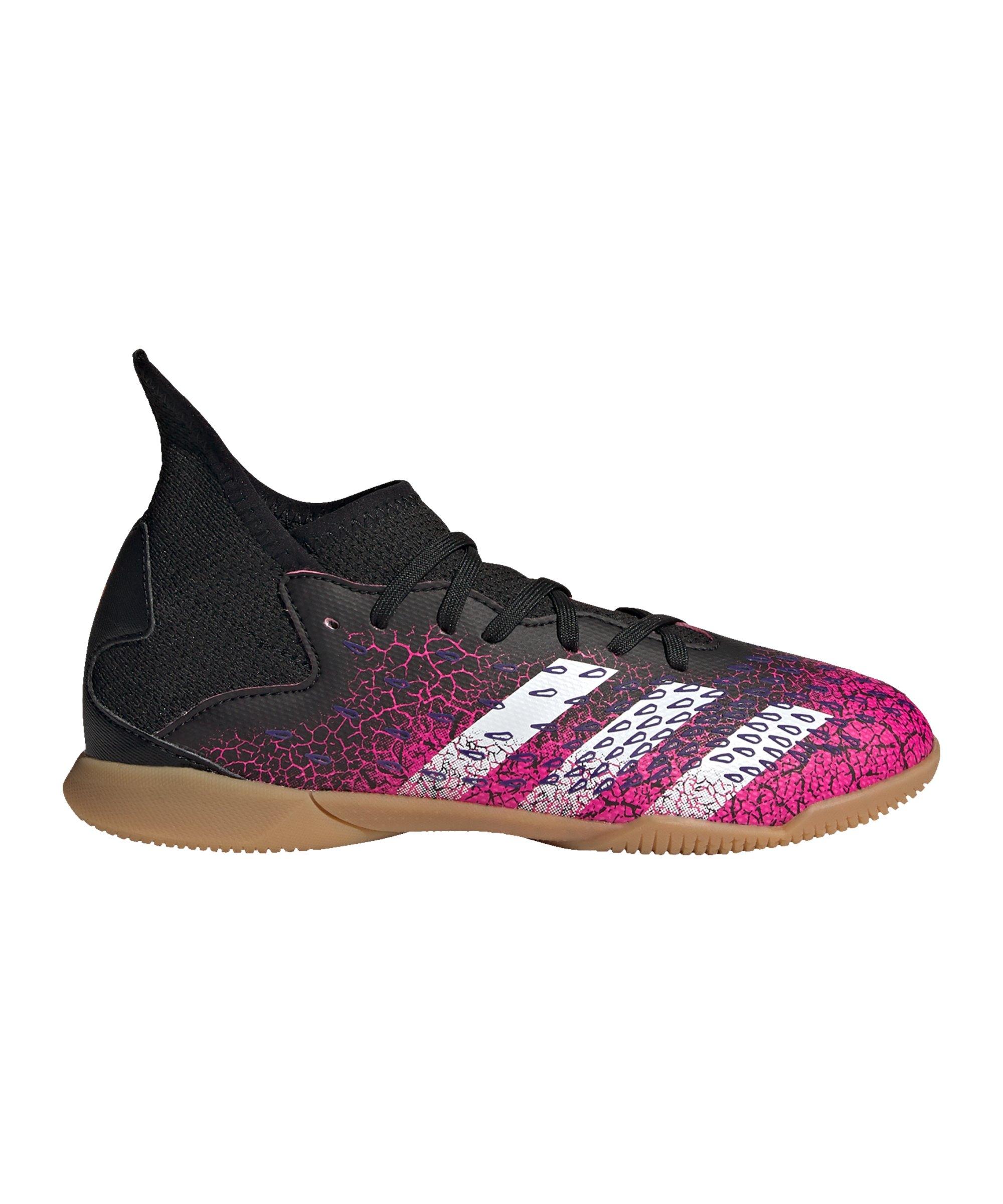 adidas Predator FREAK.3 IN Halle Superspectral J Kids Schwarz Pink - schwarz