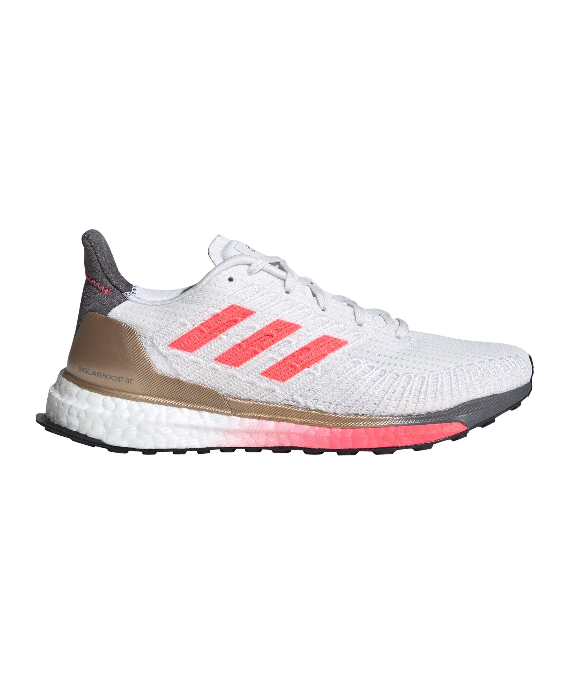 adidas Solar Boost ST 19 Running Damen Weiss Pink - weiss