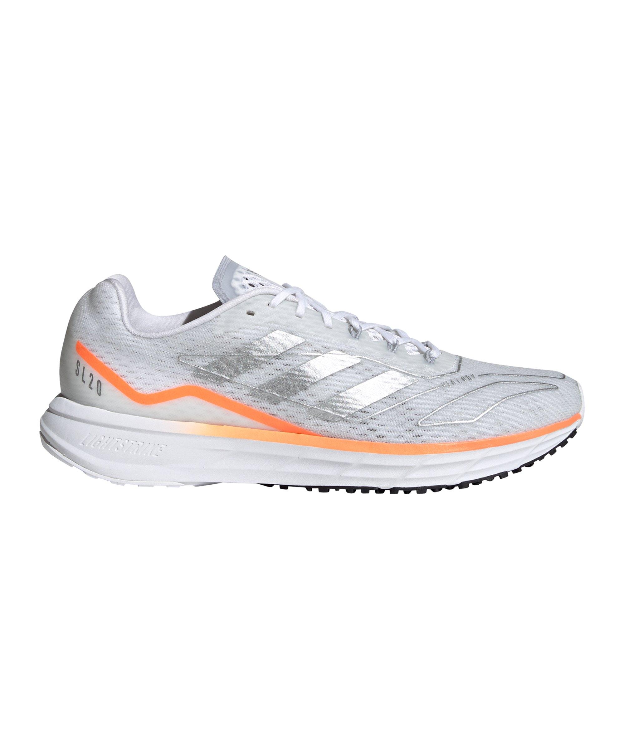 adidas SL20.2 Summer.READY Running Weiss Orange - weiss