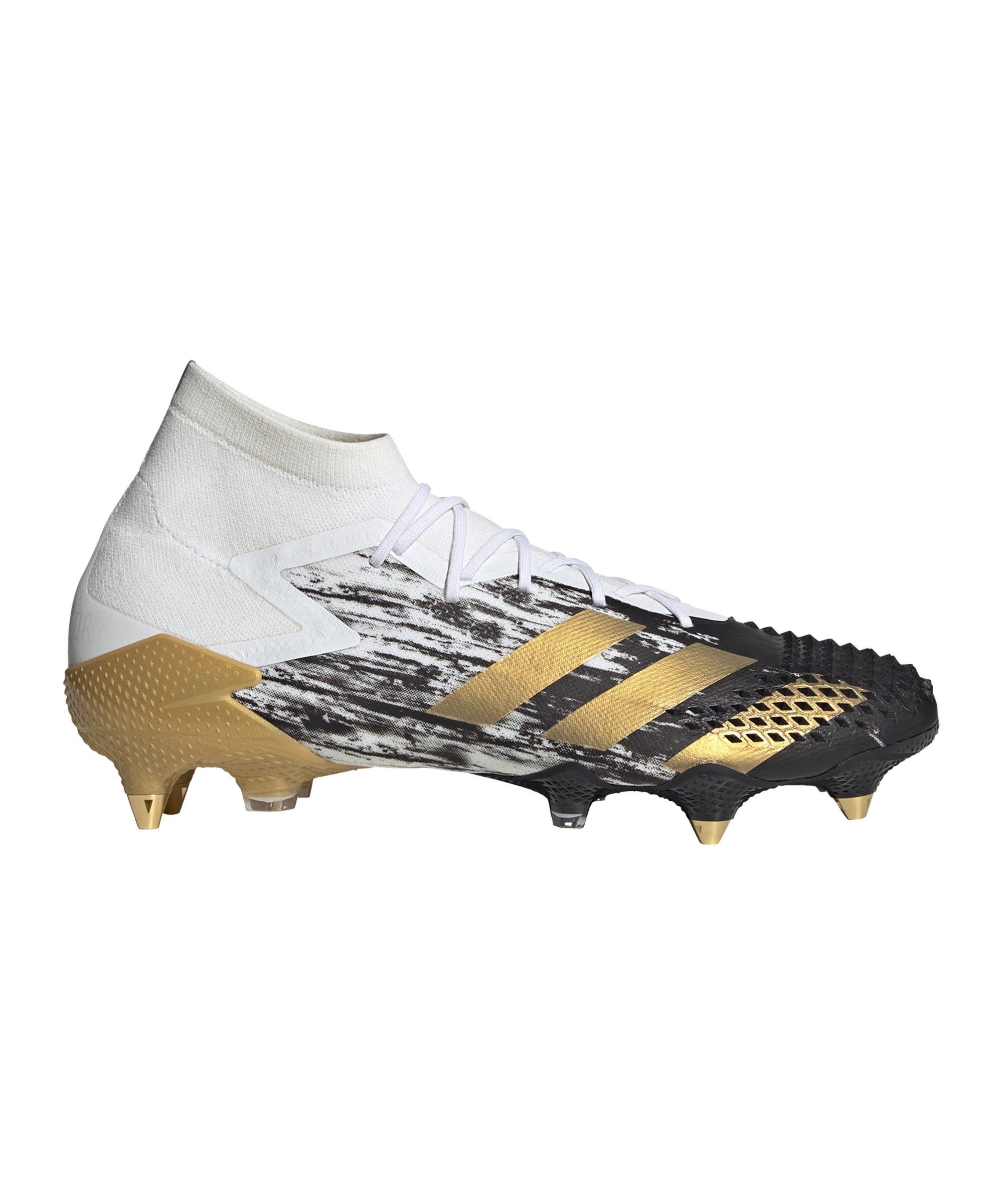 adidas Predator Inflight 20.1 SG Weiss Gold - weiss