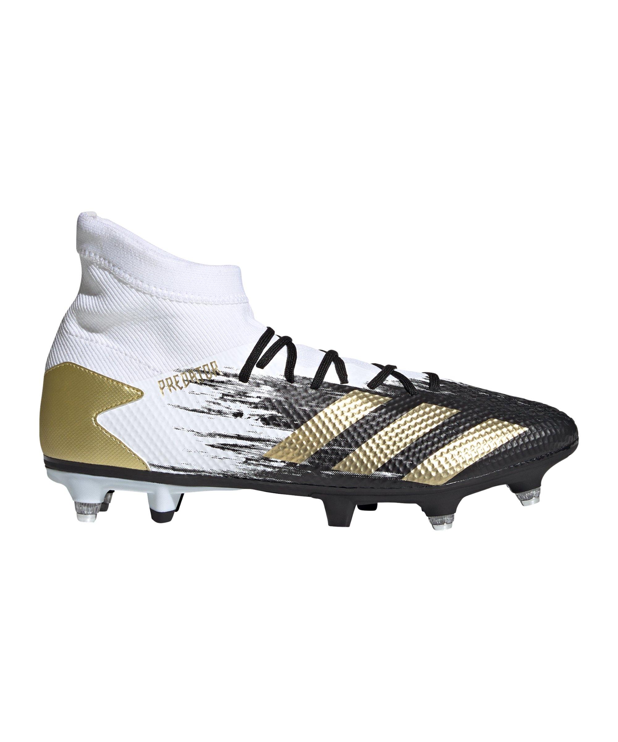 adidas Predator Inflight 20.3 SG Weiss Gold - weiss