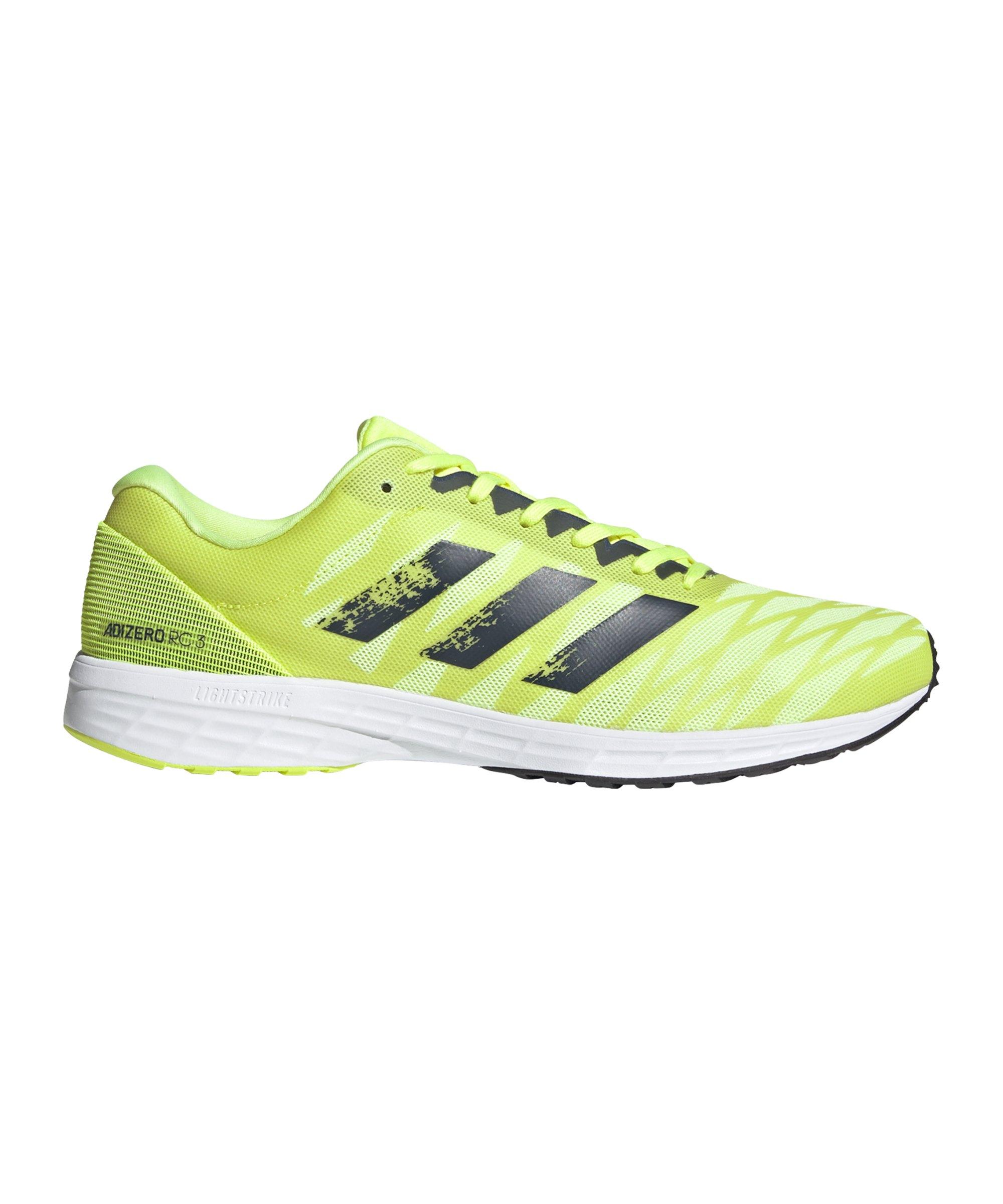 adidas Adizero RC 3 Gelb Grau - gelb