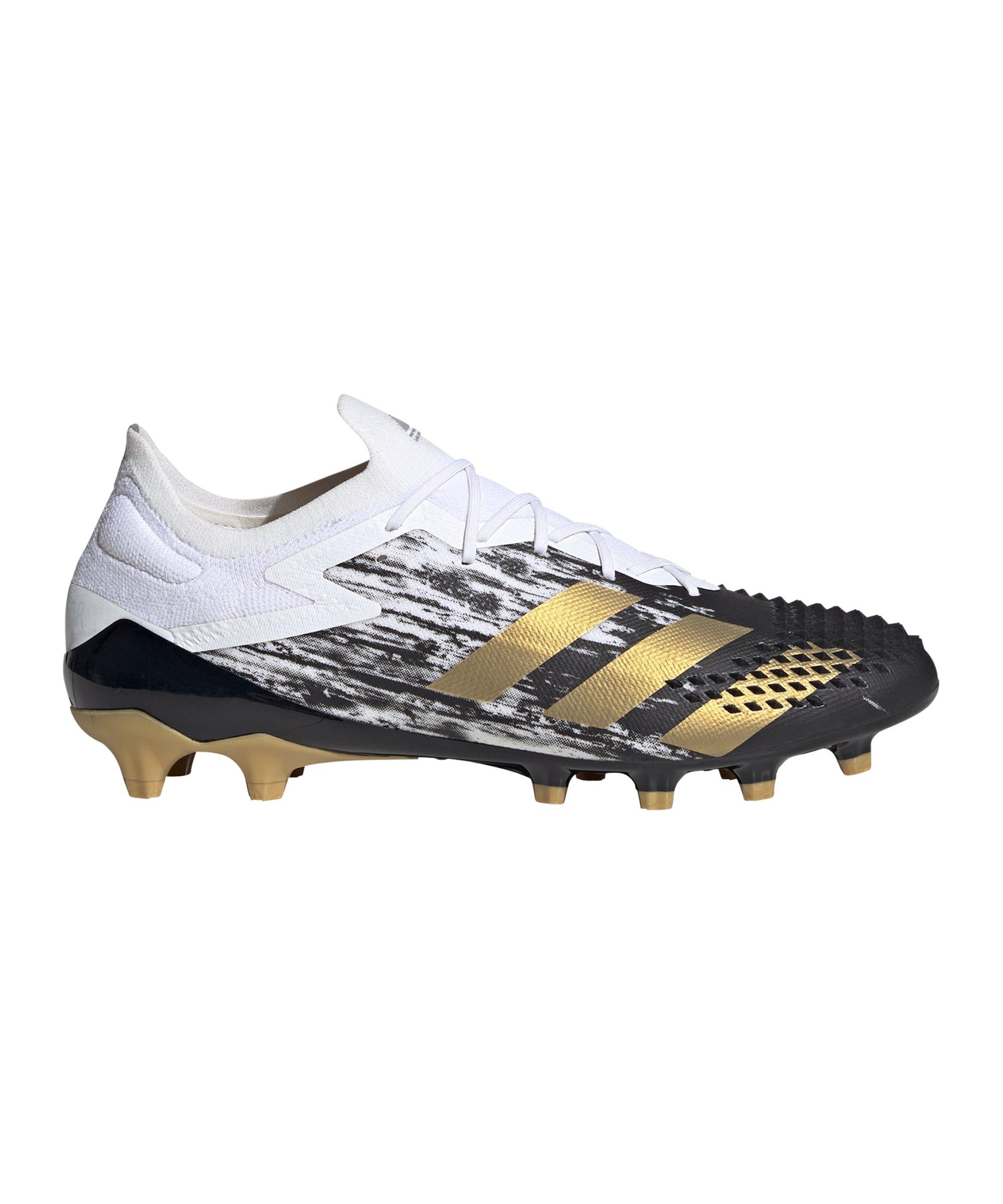 adidas Predator Inflight 20.1 L AG Weiss Gold - weiss
