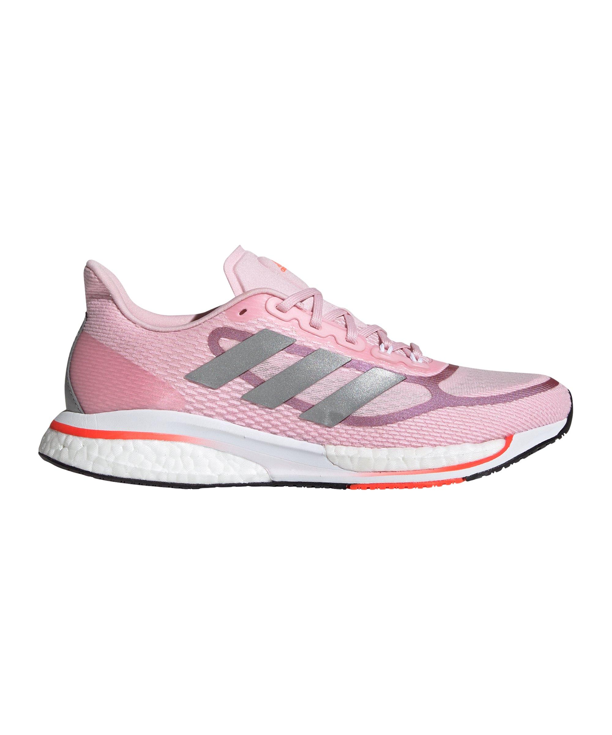 adidas Supernova+ Running Damen Rosa Lila - rosa
