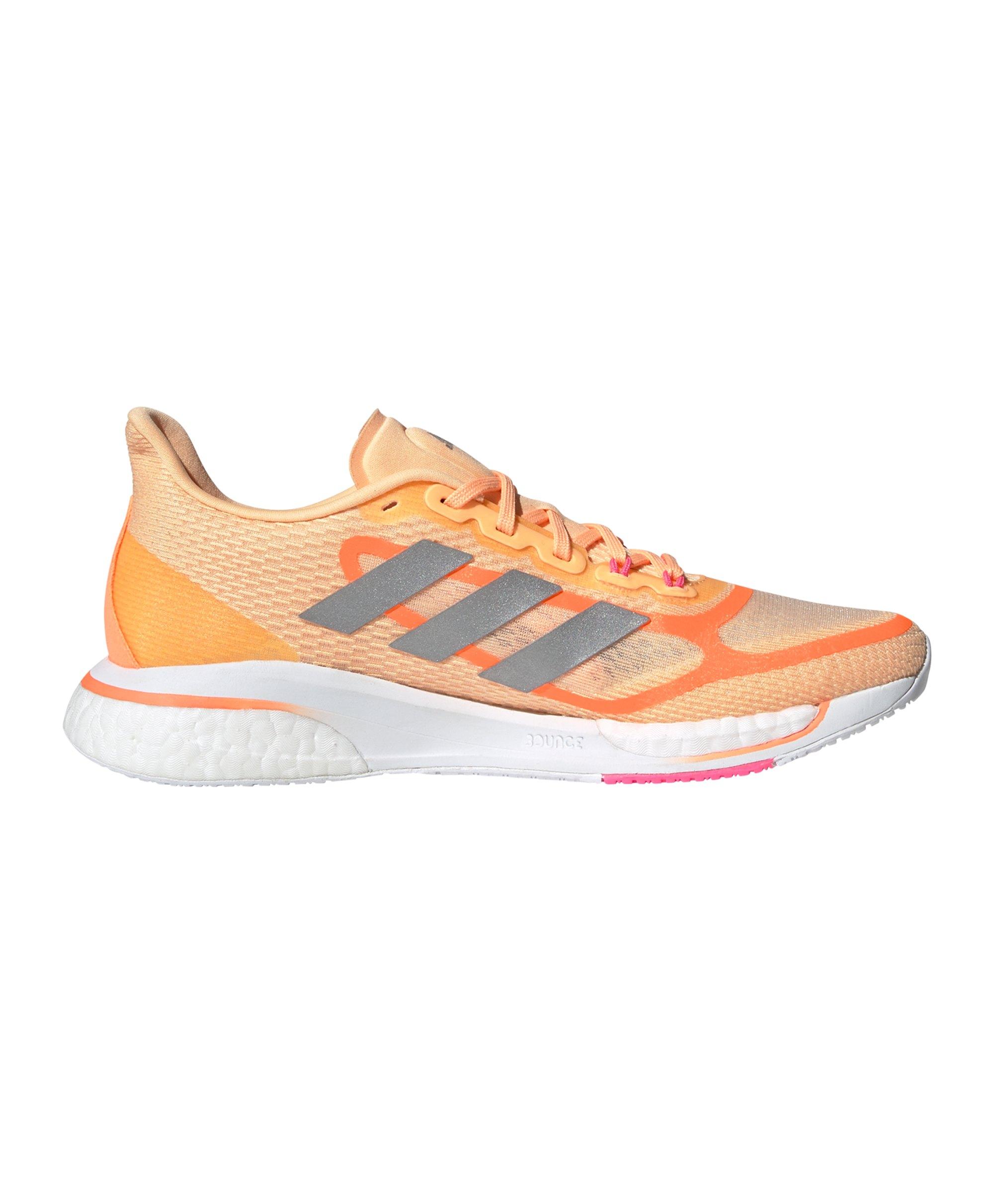 adidas Supernova Running Damen Orange Silber - orange