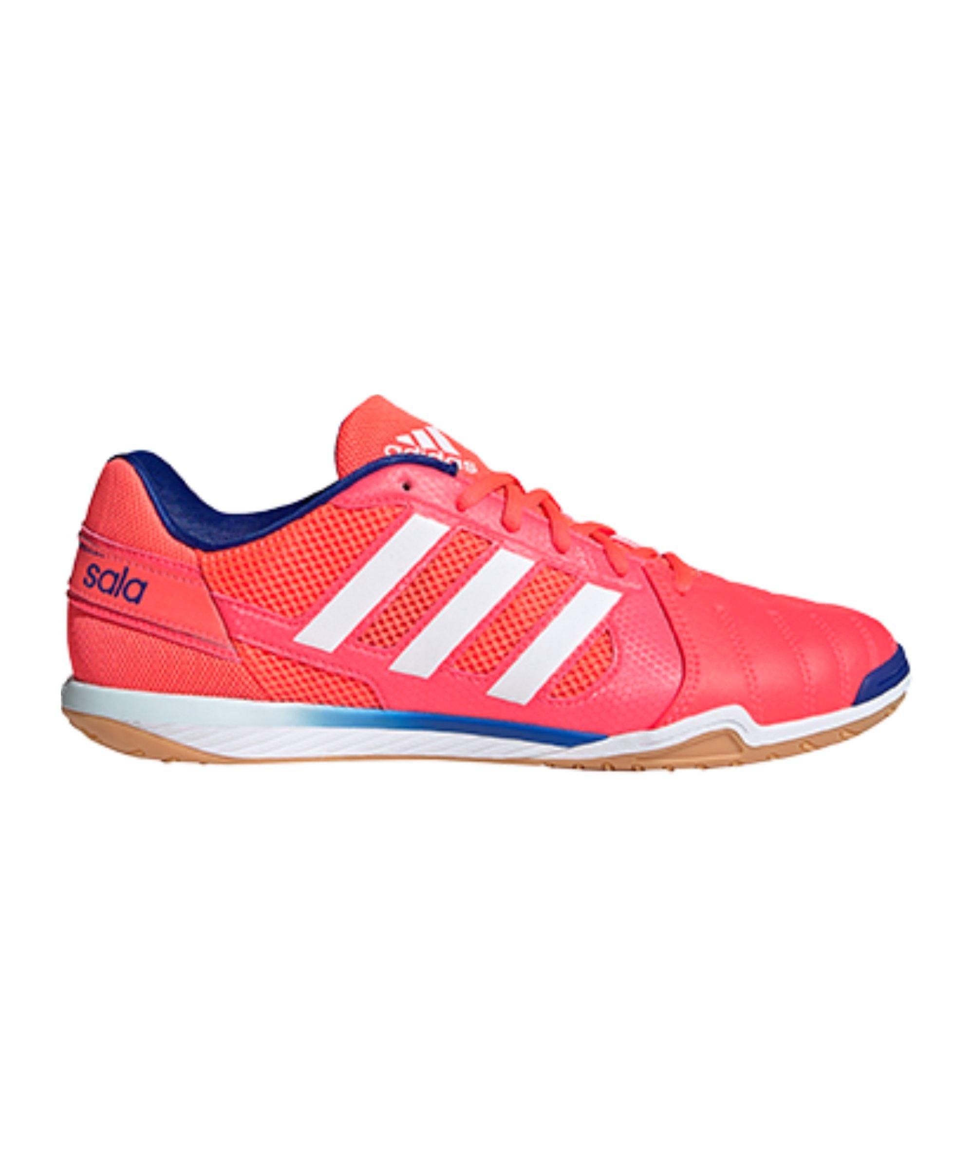 adidas Top Sala IN Halle Pink Blau Weiss - pink