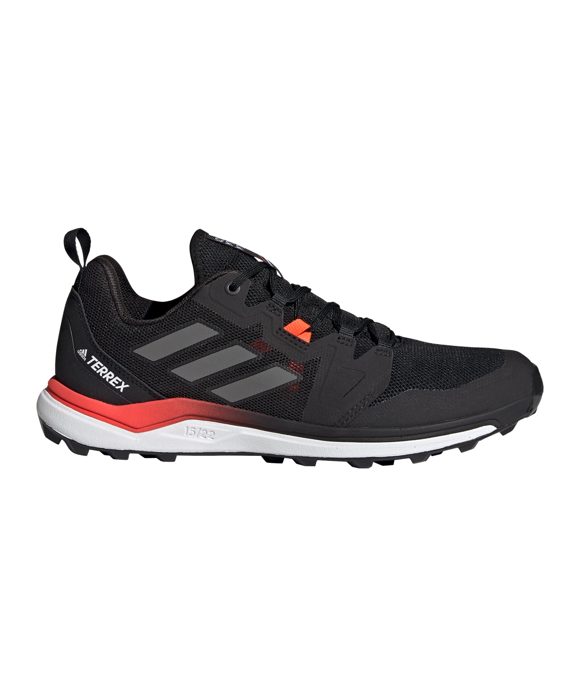 adidas Terrex Agravic GTX Running Schwarz Rot - schwarz