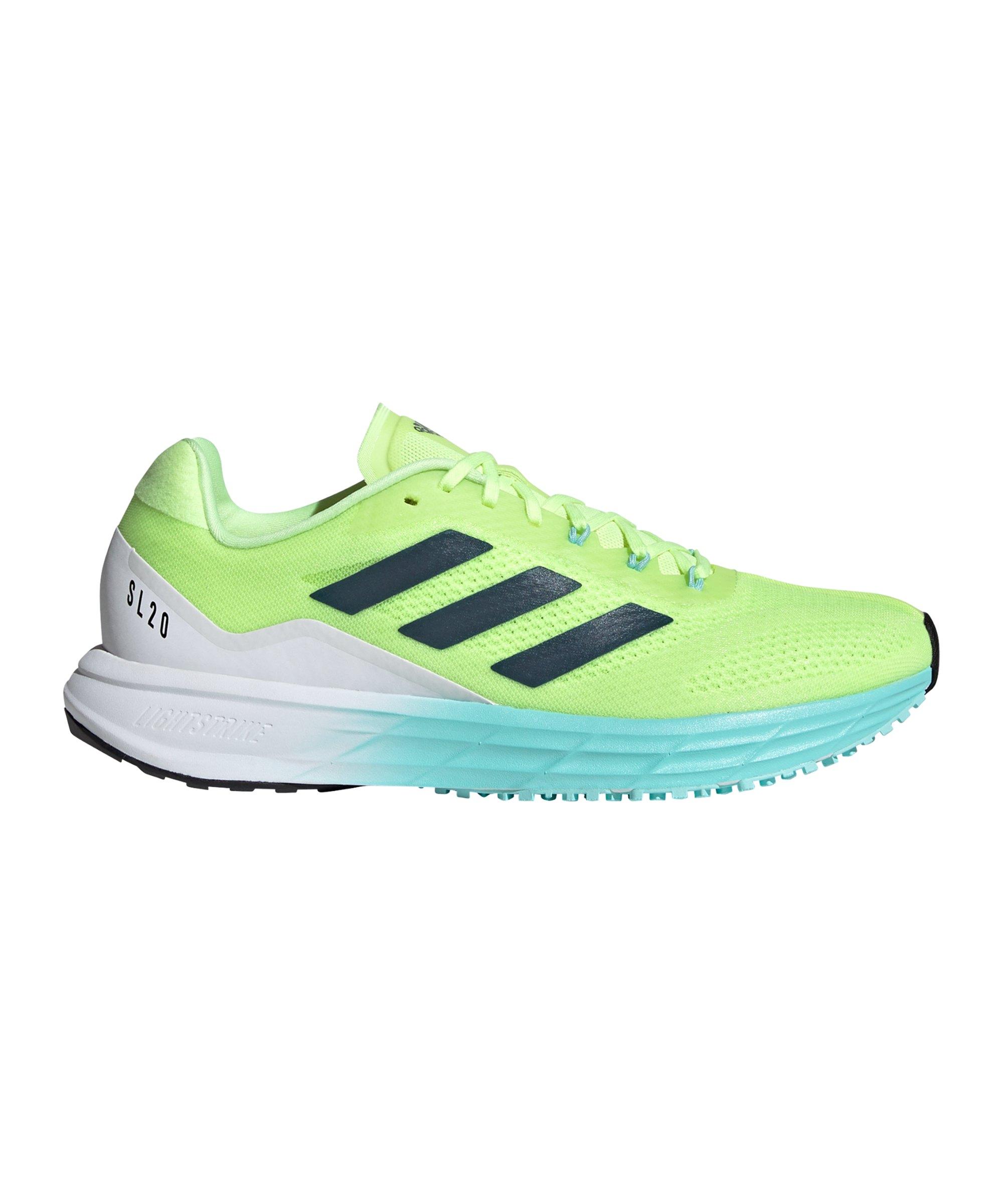 adidas SL20.2 Running Damen Gelb Blau - gelb