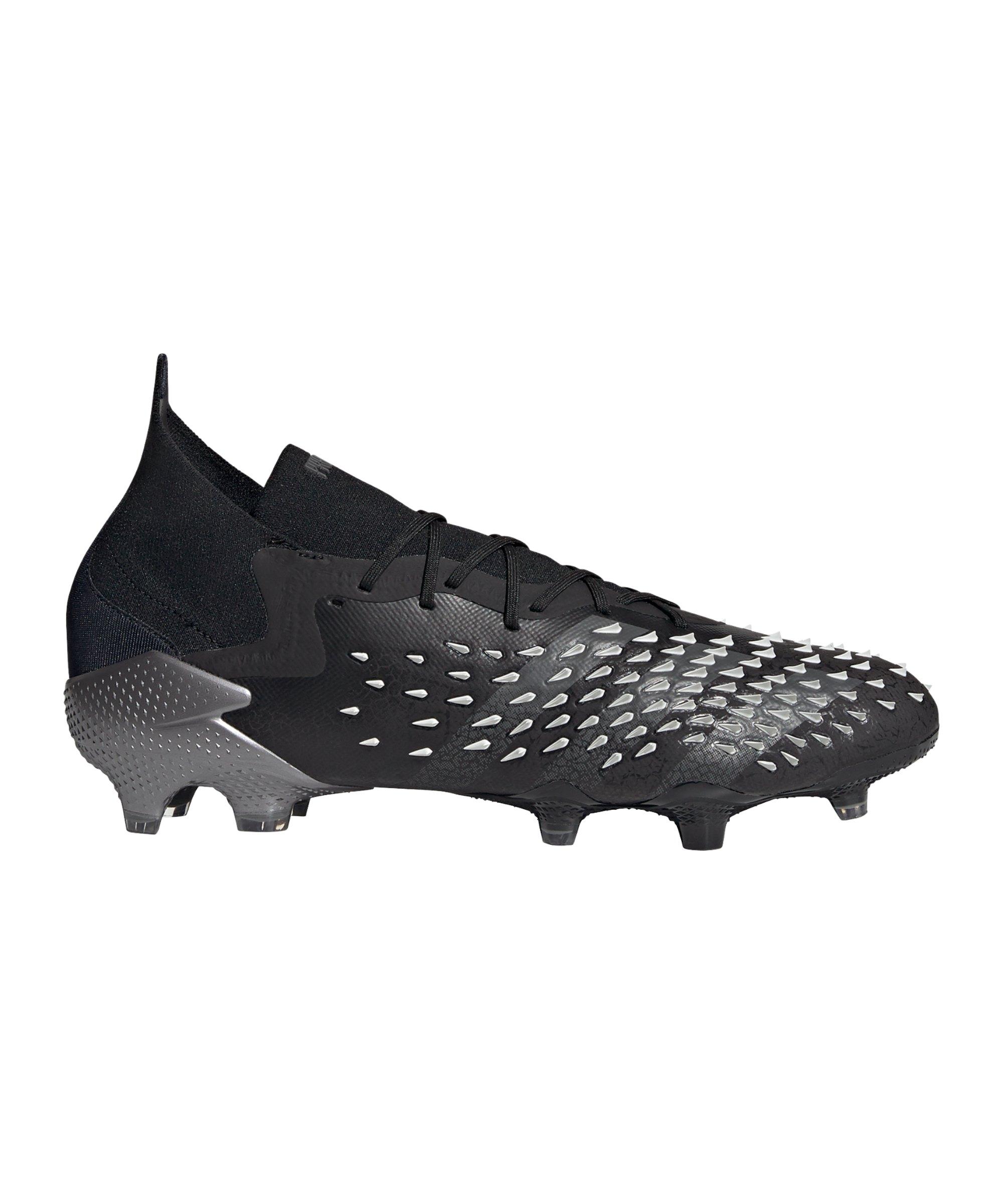 adidas Predator FREAK.1 FG Superstealth Schwarz Grau - schwarz
