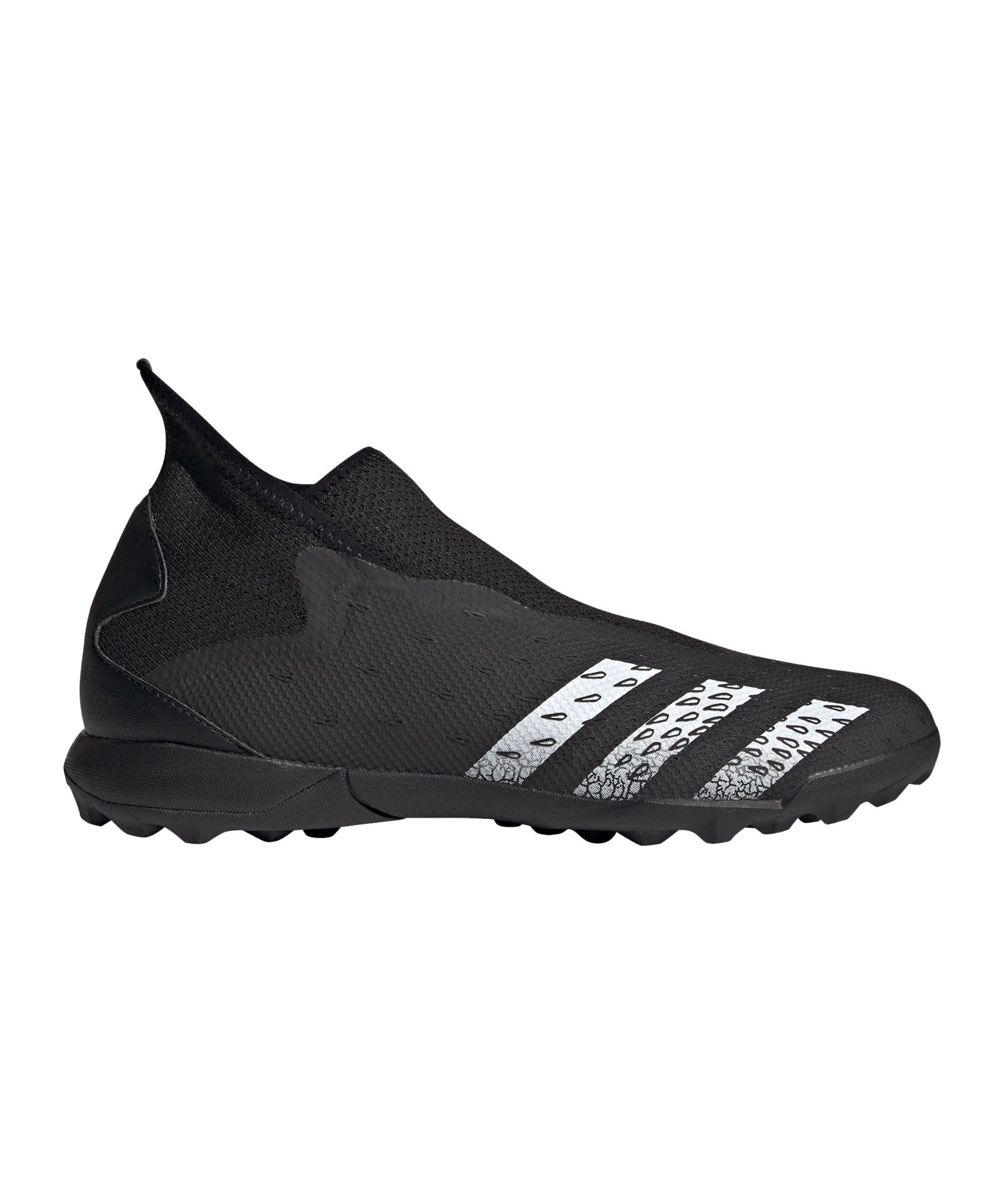 adidas Predator FREAK.3 LL TF Superstealth Schwarz - schwarz
