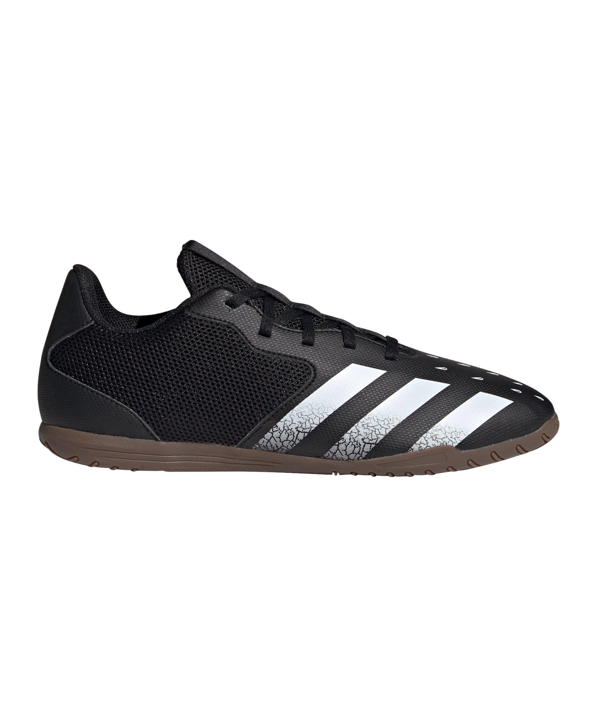adidas Predator FREAK.4 IN Sala Halle Superstealth Schwarz - schwarz