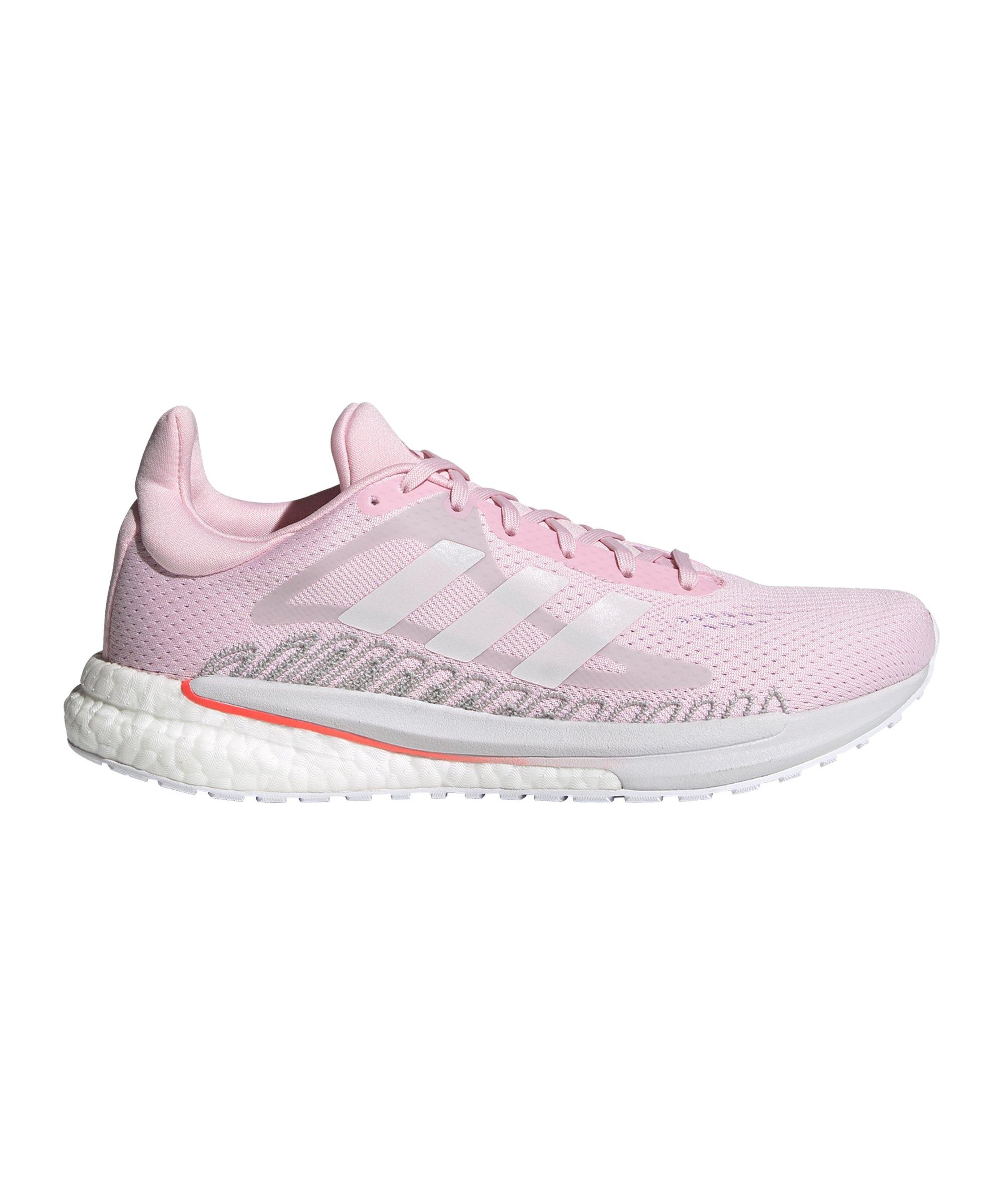 adidas Solar Glide ST 3 Running Damen Rosa Orange - rosa