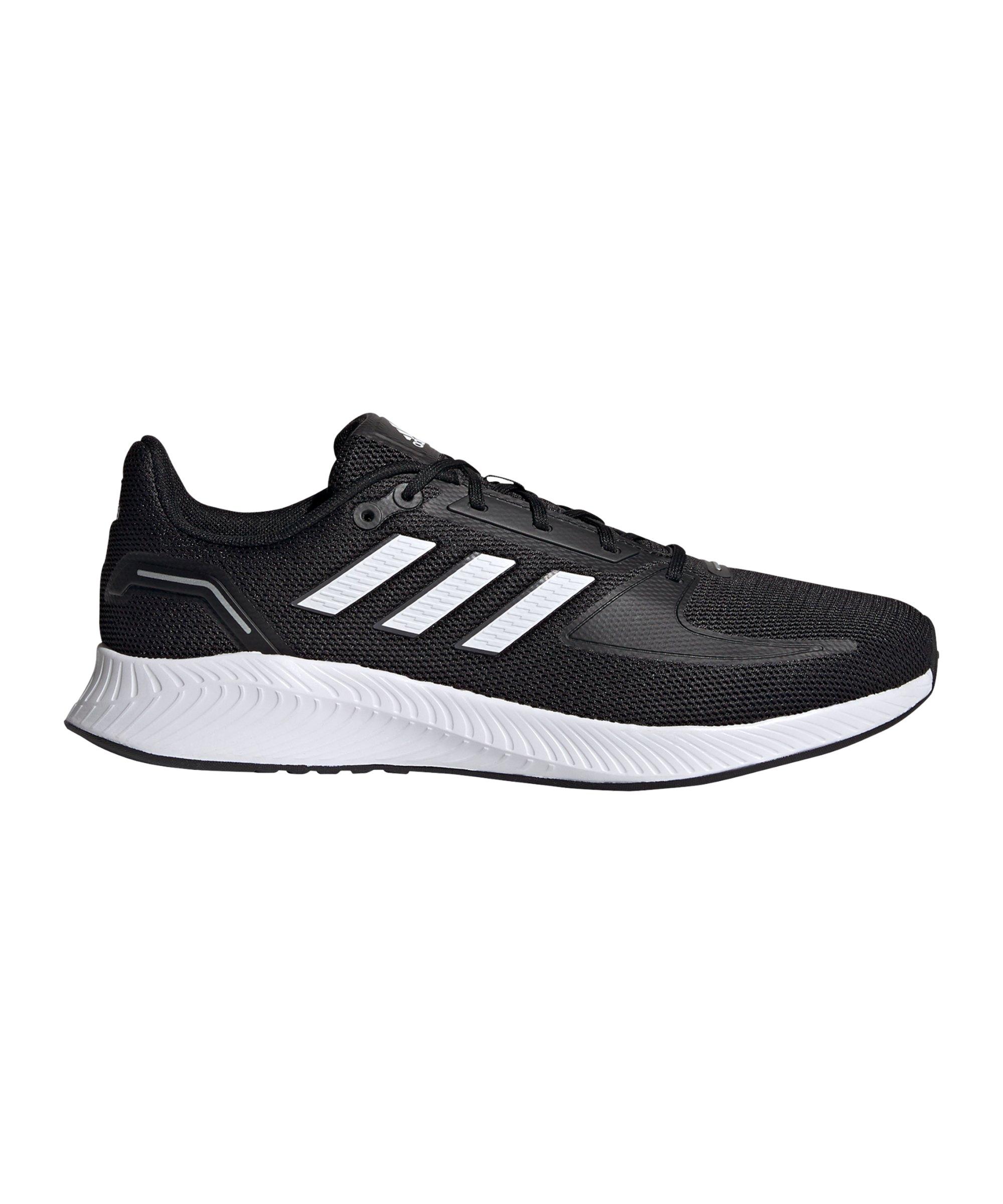 adidas Runfalcon 2.0 Running Schwarz Weiss - schwarz