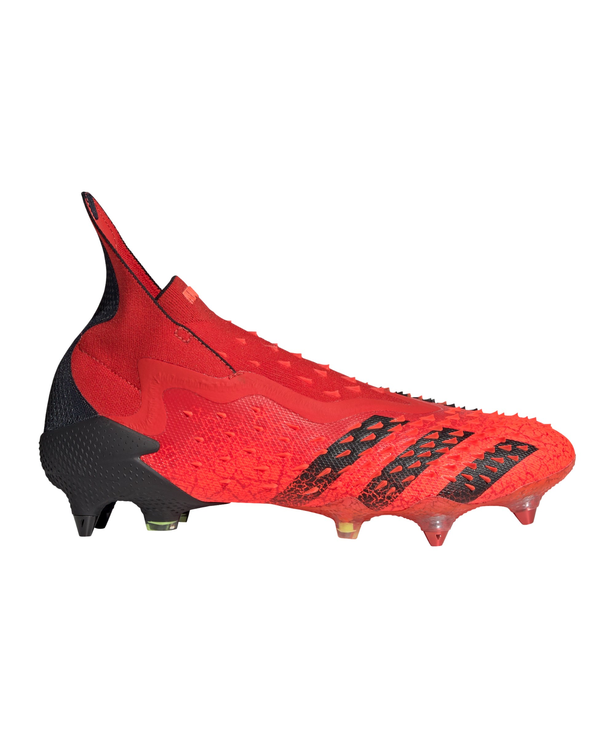 adidas Predator FREAK+ SG Meteorite Rot Schwarz - rot