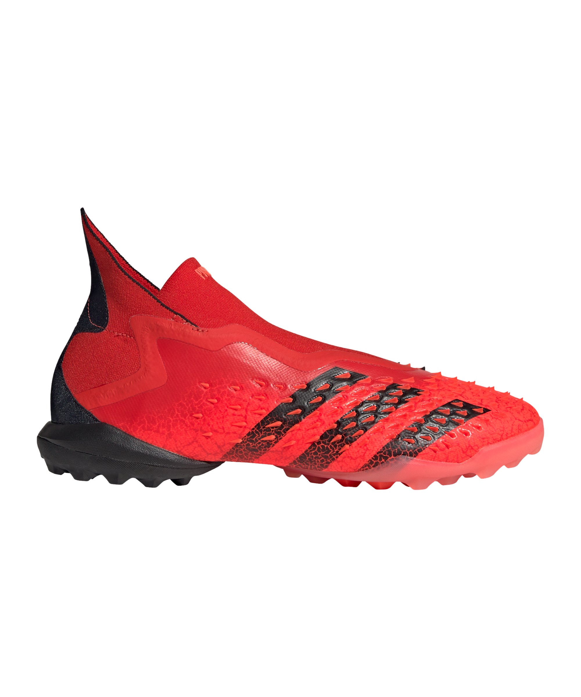 adidas Predator FREAK+ TF Meteorite Rot Schwarz - rot