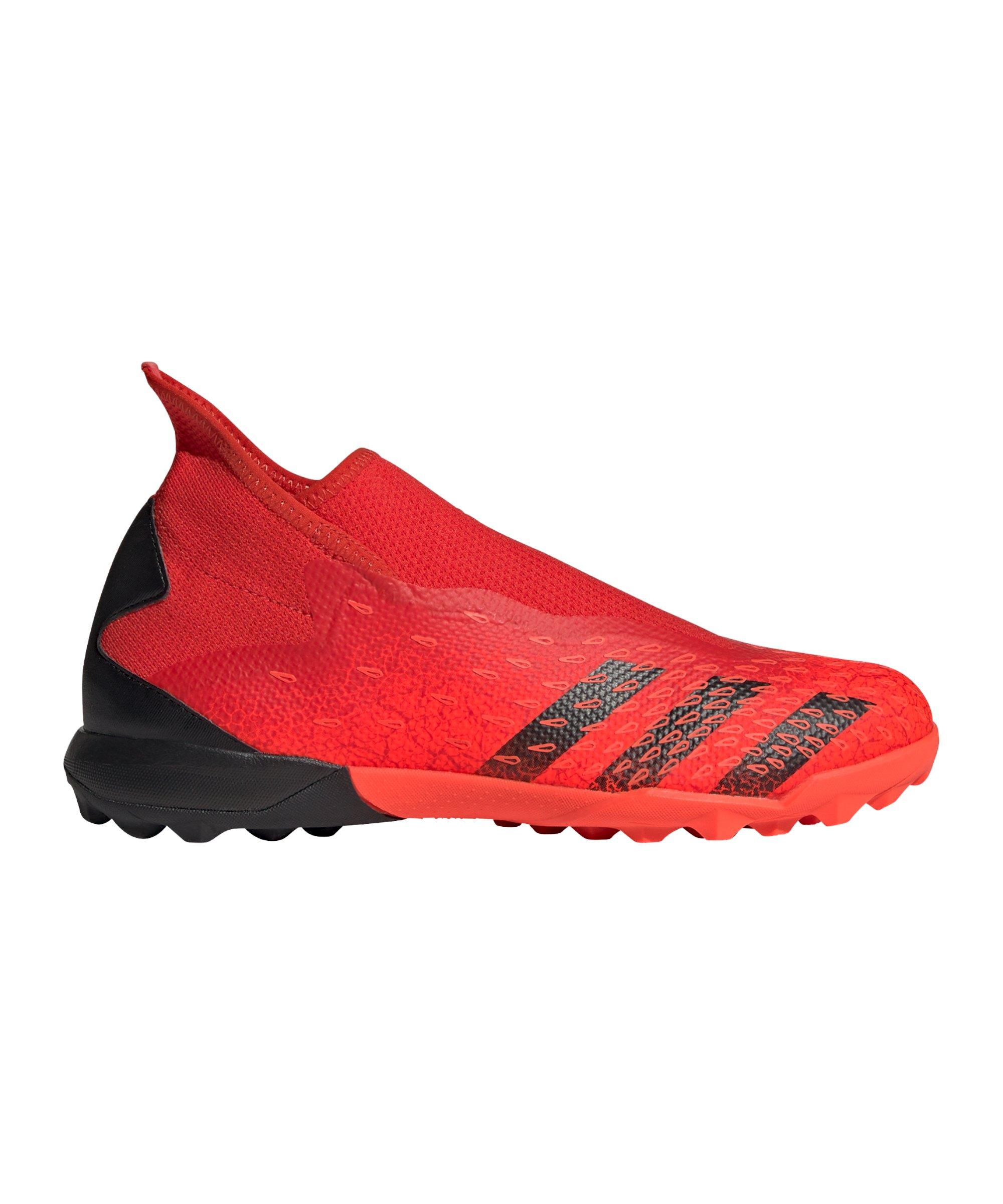 adidas Predator FREAK.3 LL TF Meteorite Rot Schwarz - rot