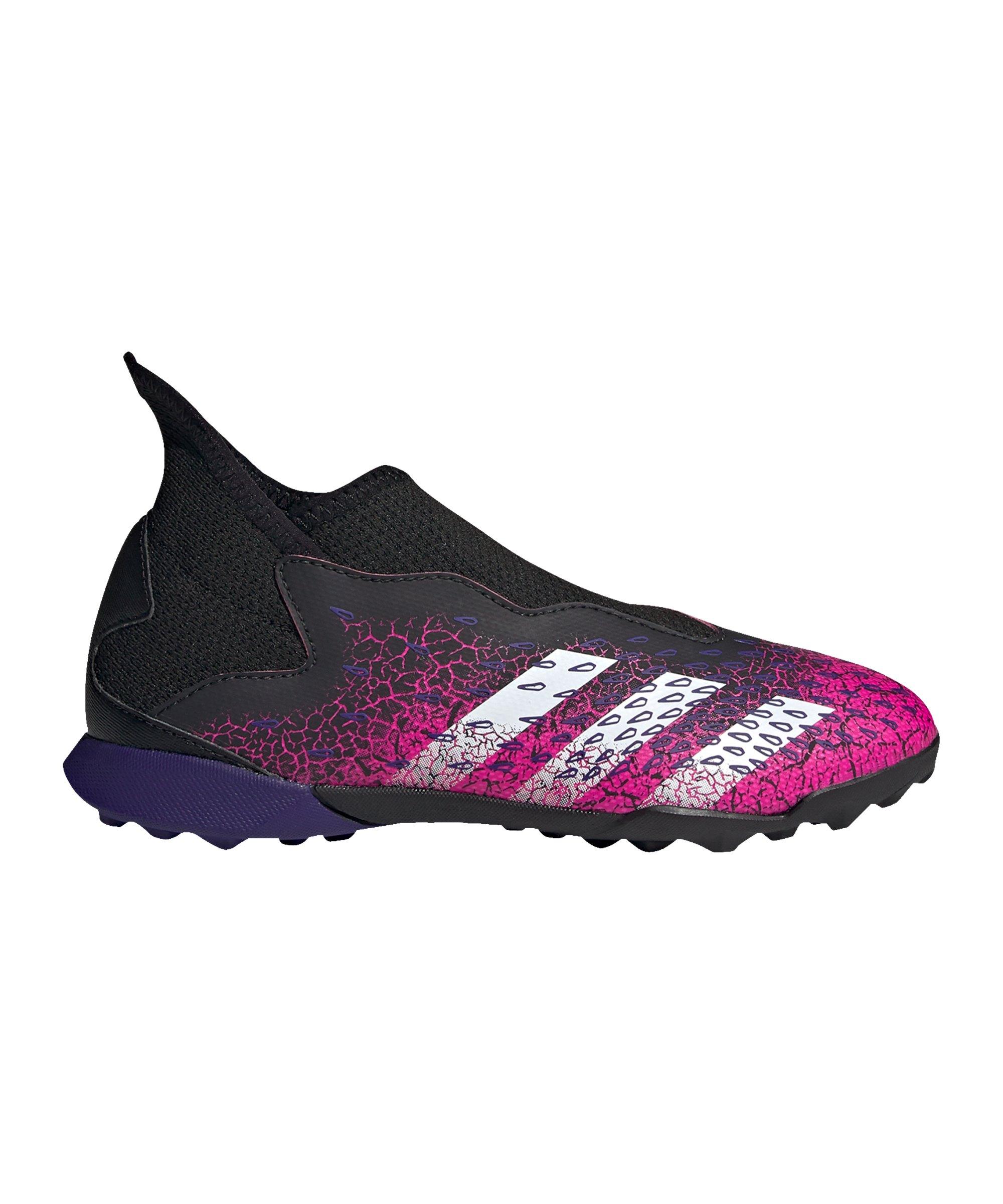 adidas Predator FREAK.3 LL TF Superspectral J Kids Schwarz Pink - schwarz