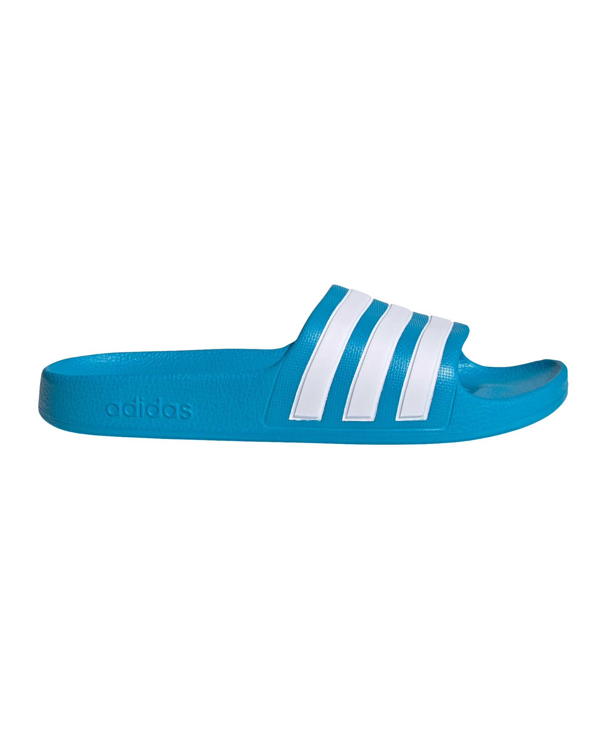 adidas Adilette Aqua Badelatsche Kids Blau - blau