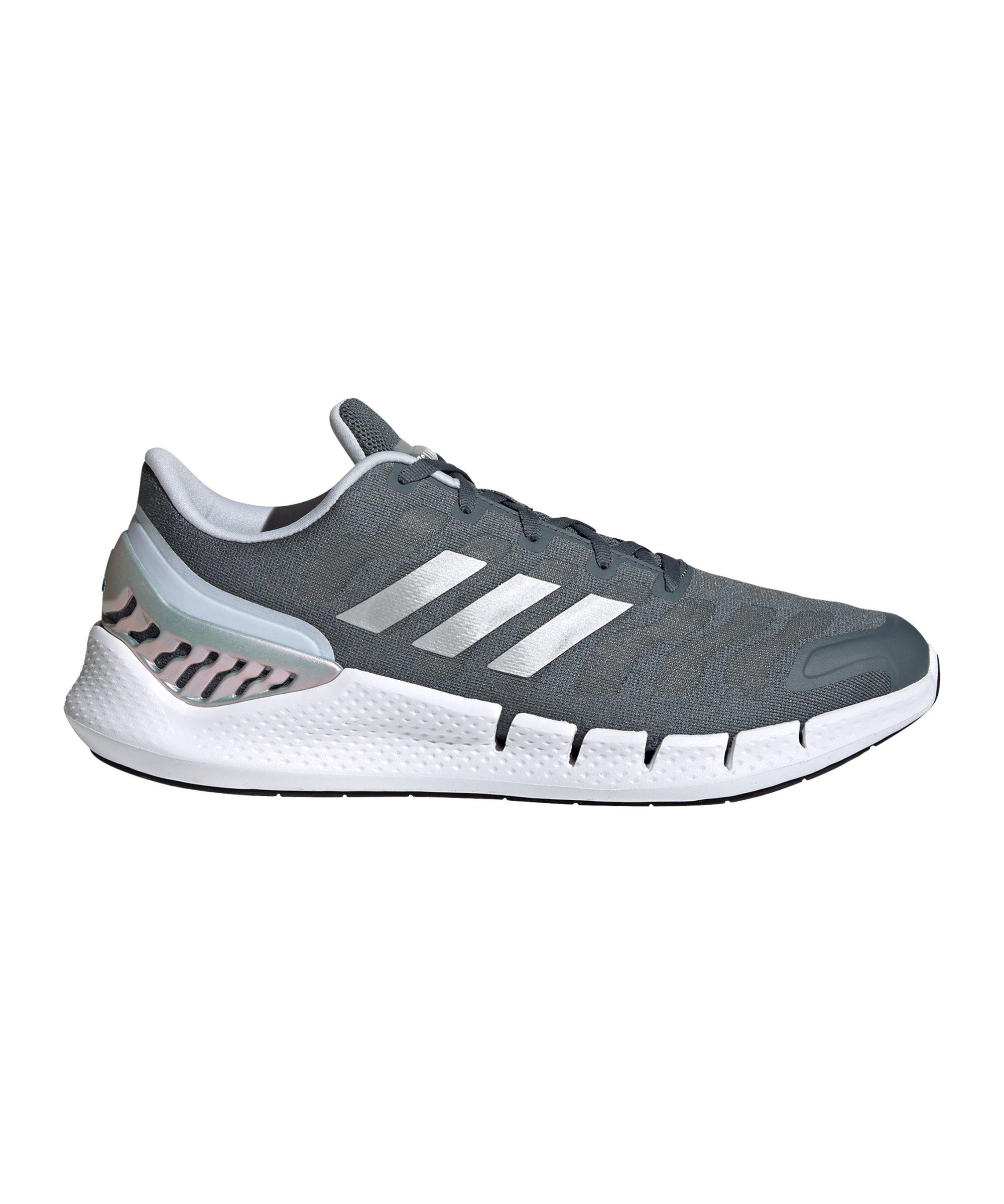 adidas Climacool Ventania Running Blau Grau Weiss - blau