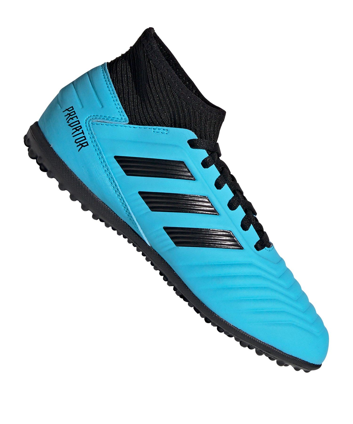 adidas Predator 19.3 TF J Kids Blau Schwarz - blau