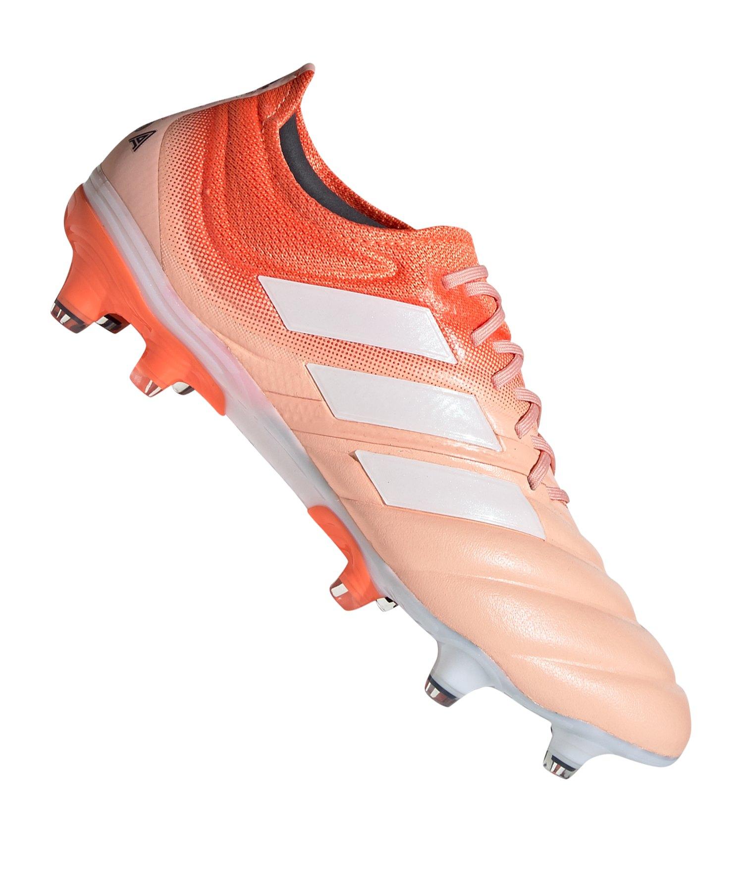 adidas COPA 19.1 FG Damen Orange Weiss - orange