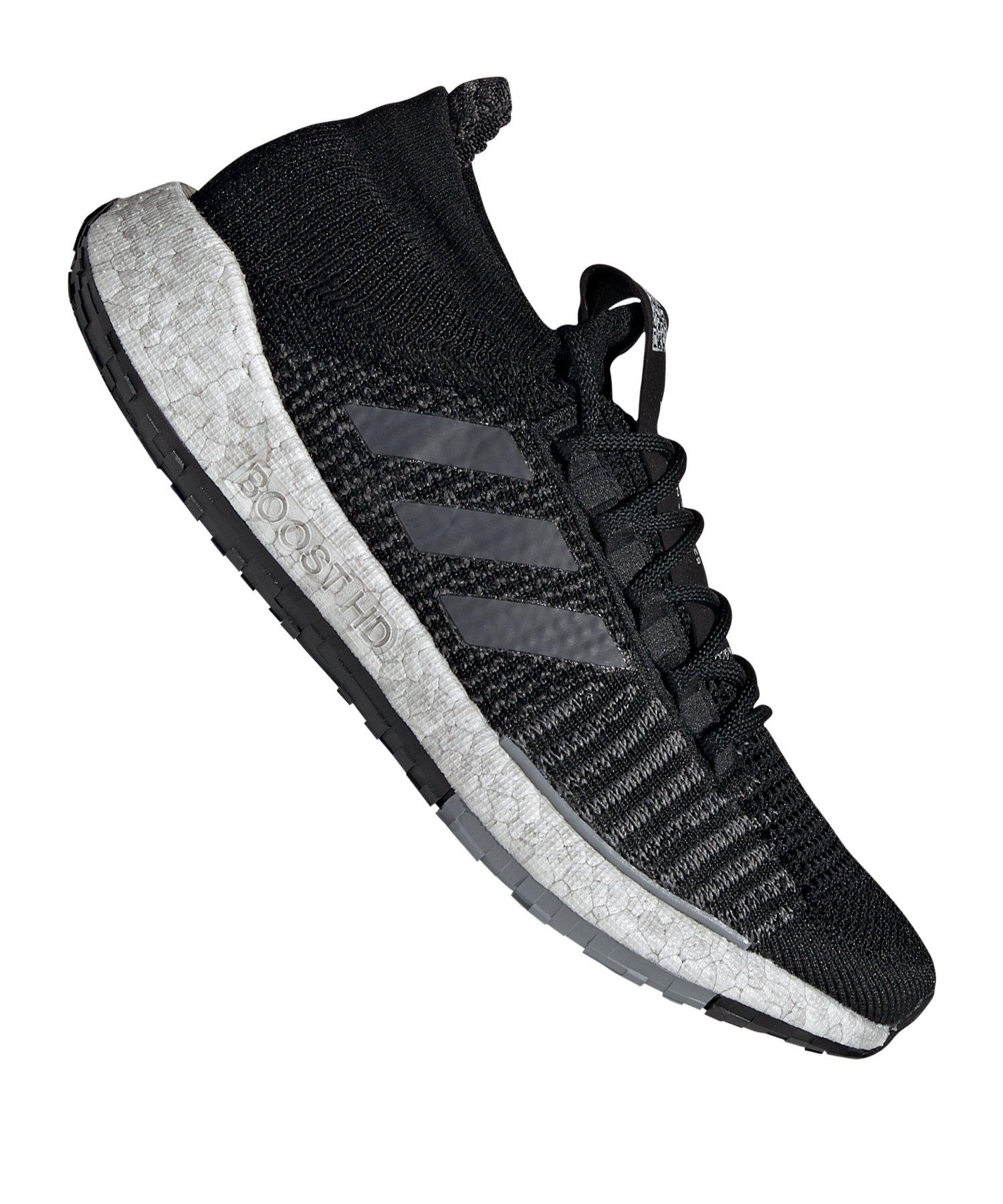 adidas Pulse Boost HD Running Schwarz Grau - schwarz