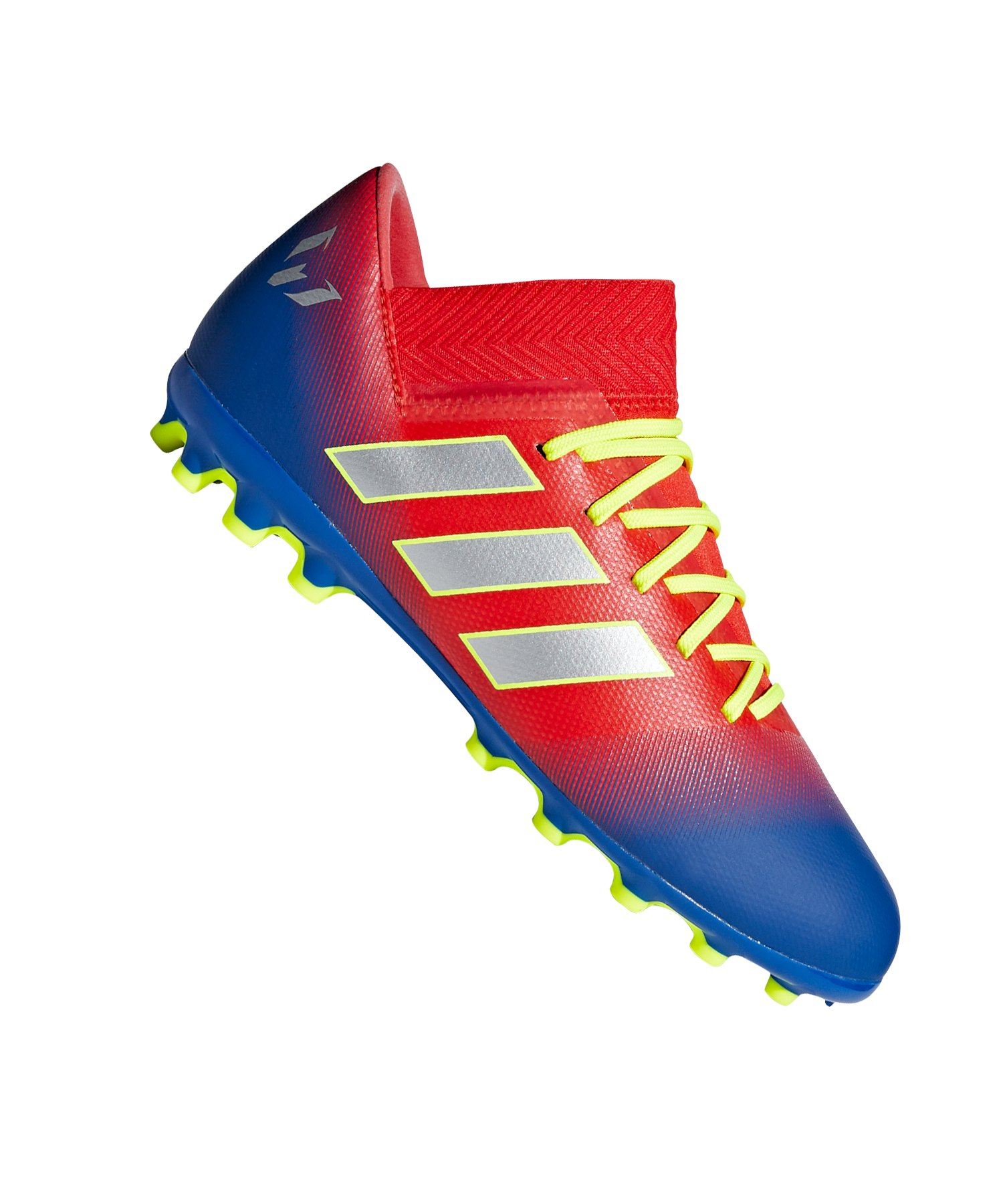 adidas NEMEZIZ Messi 18.3 AG J Kids Rot Blau - rot