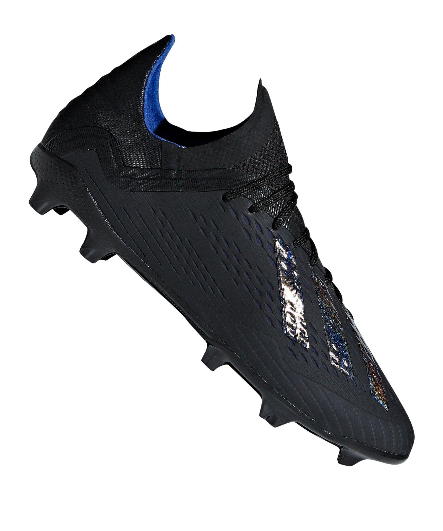 adidas X 18.1 FG J Kids Schwarz - schwarz