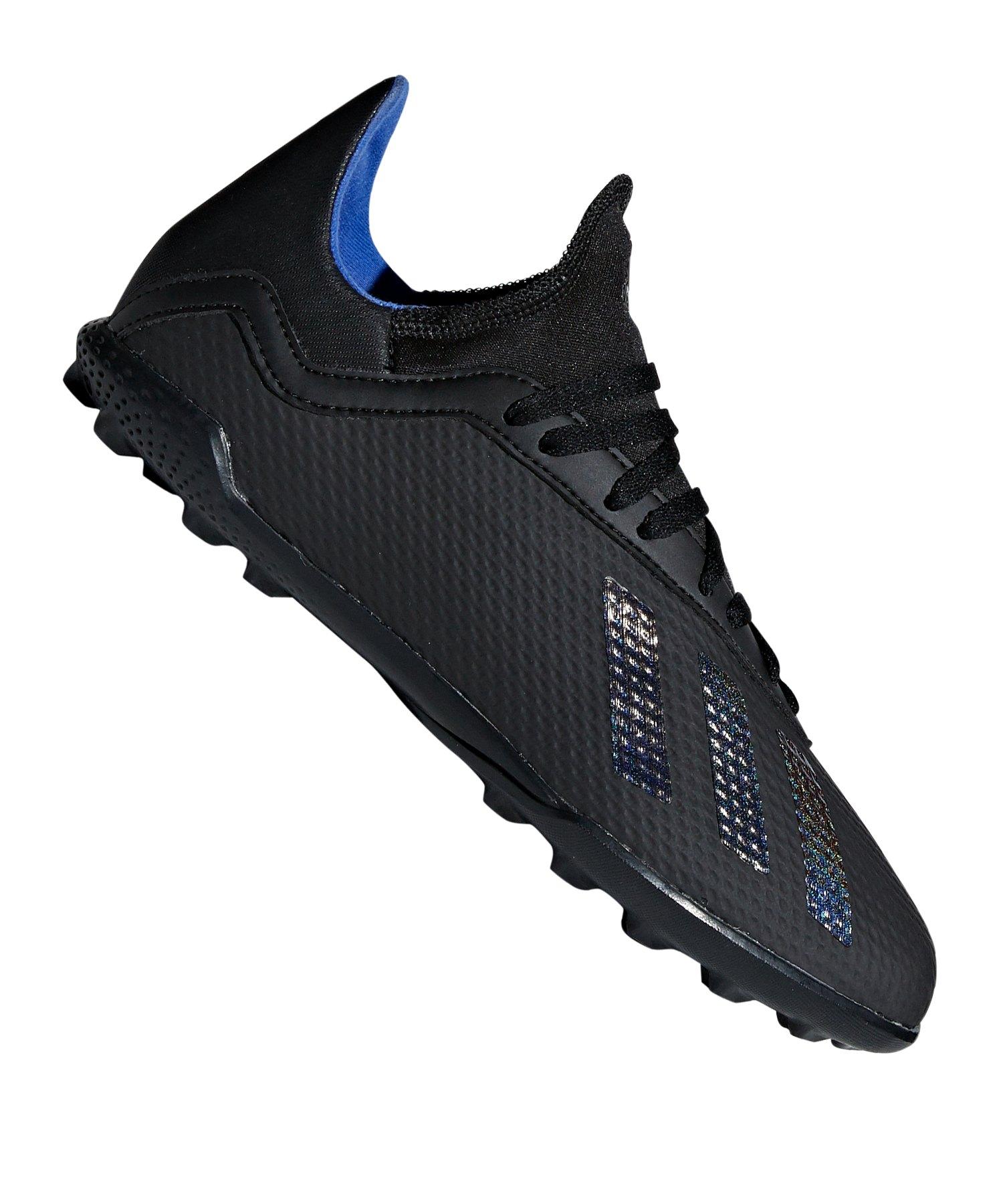 adidas X 18.3 TF J Kids Schwarz - schwarz