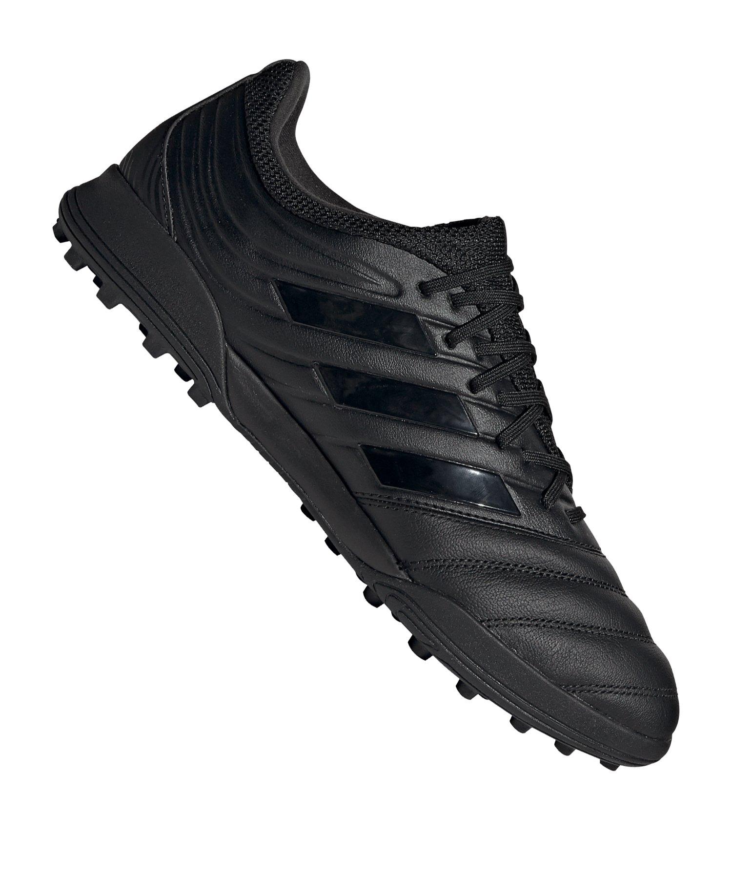 adidas COPA 20.3 TF Schwarz Grau - schwarz