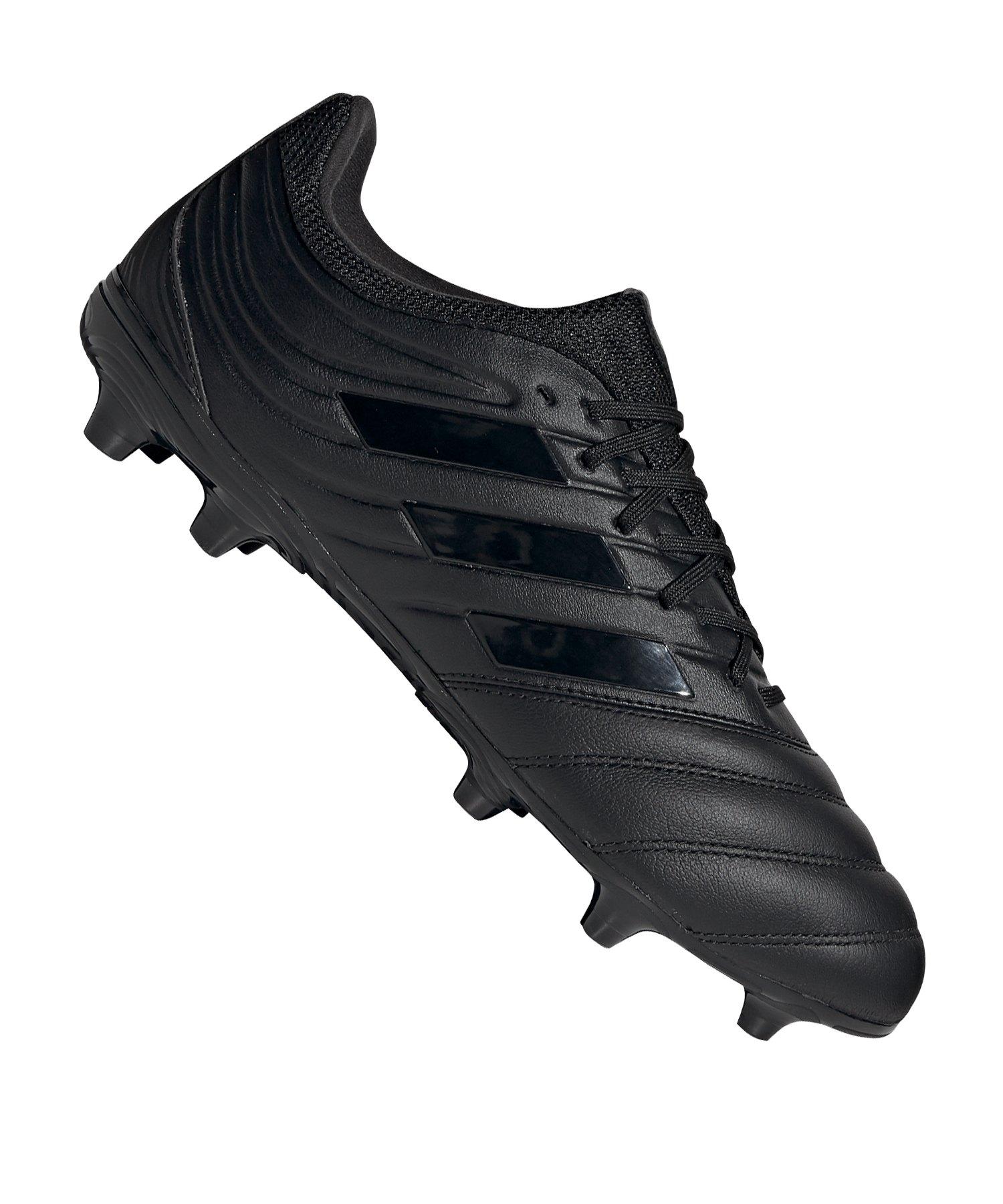 adidas COPA 20.3 FG Schwarz Grau - schwarz