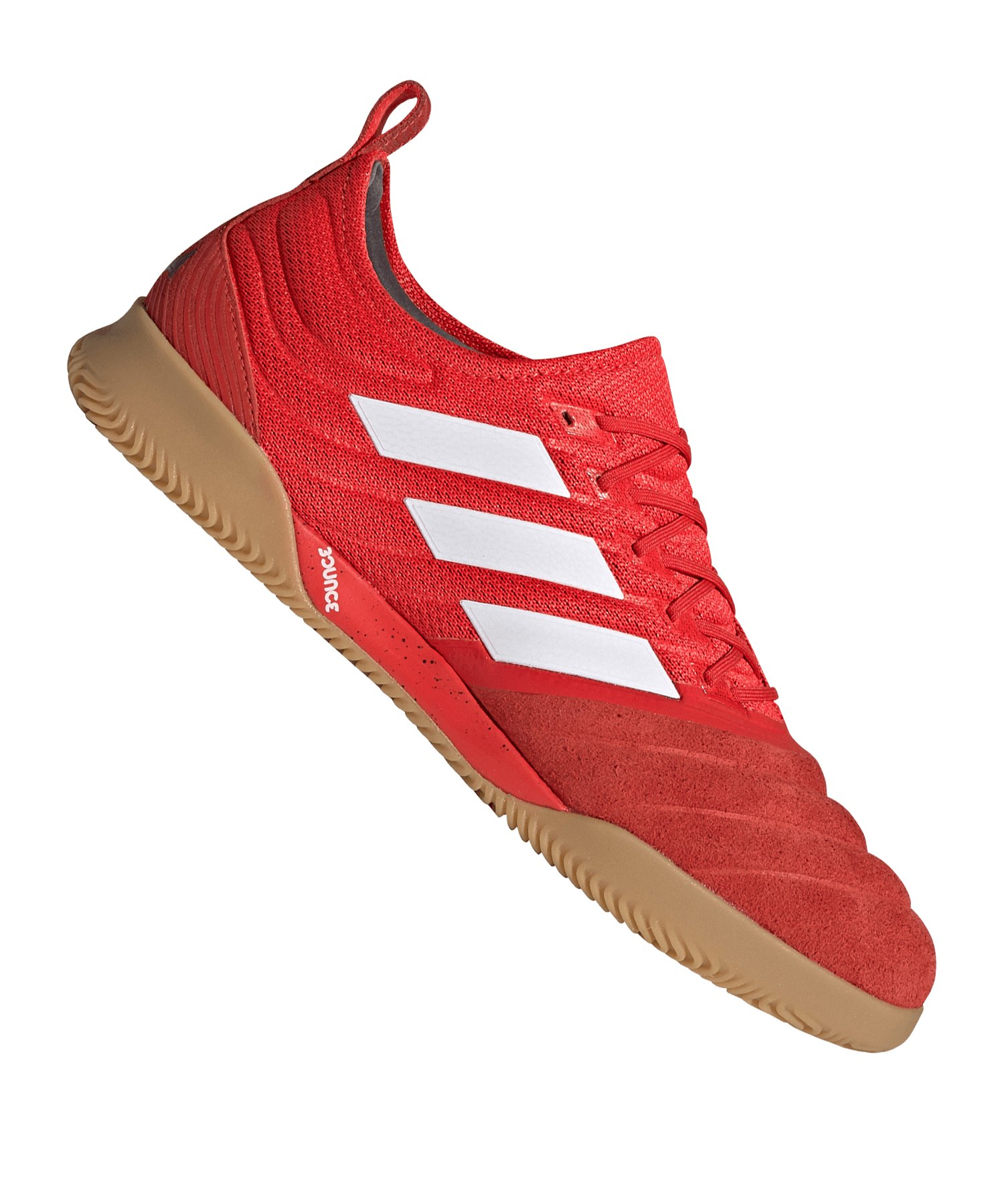 adidas COPA 20.1 IN Halle Rot Schwarz - rot