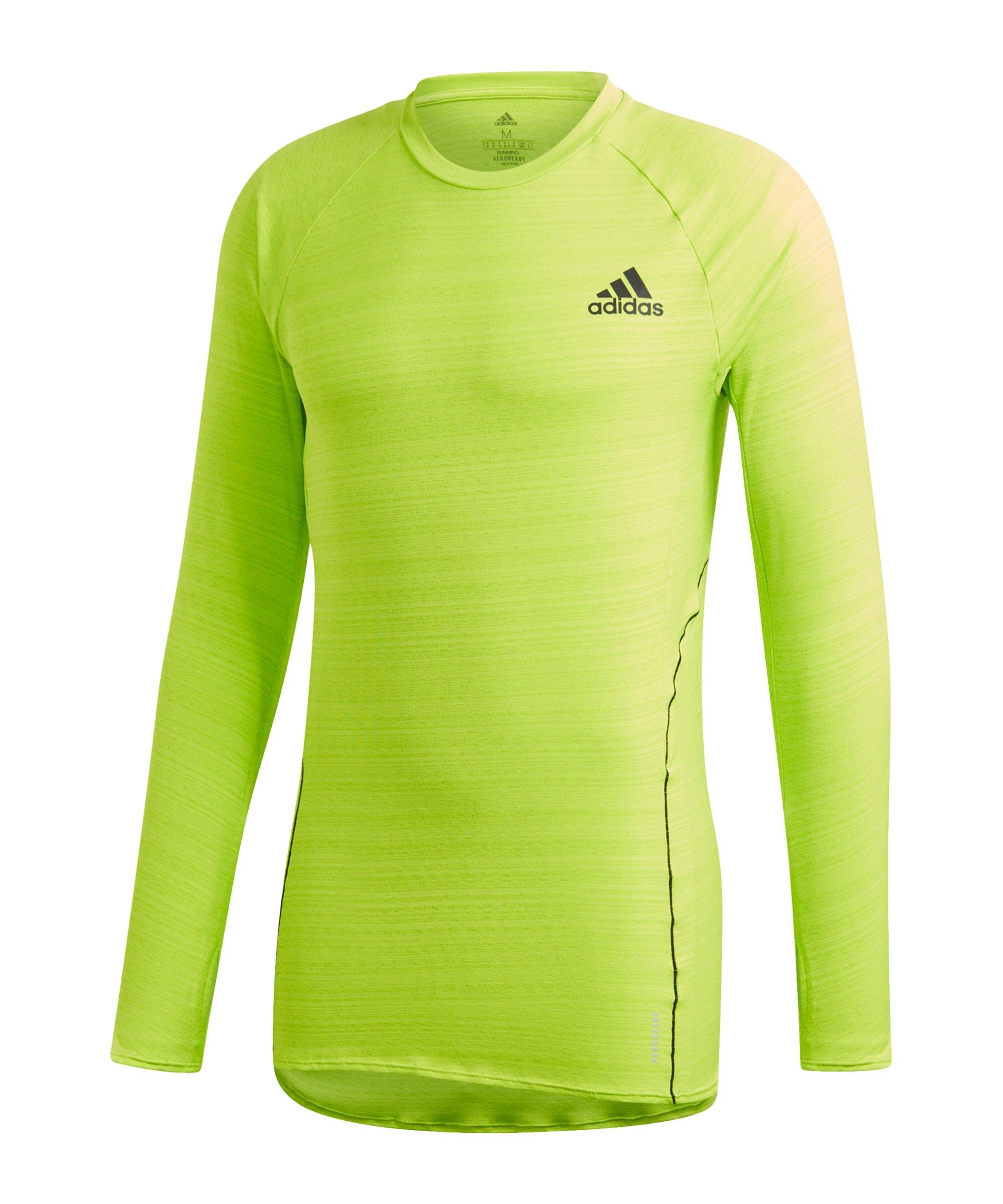 adidas Runner Sweatshirt Running Grün - gruen