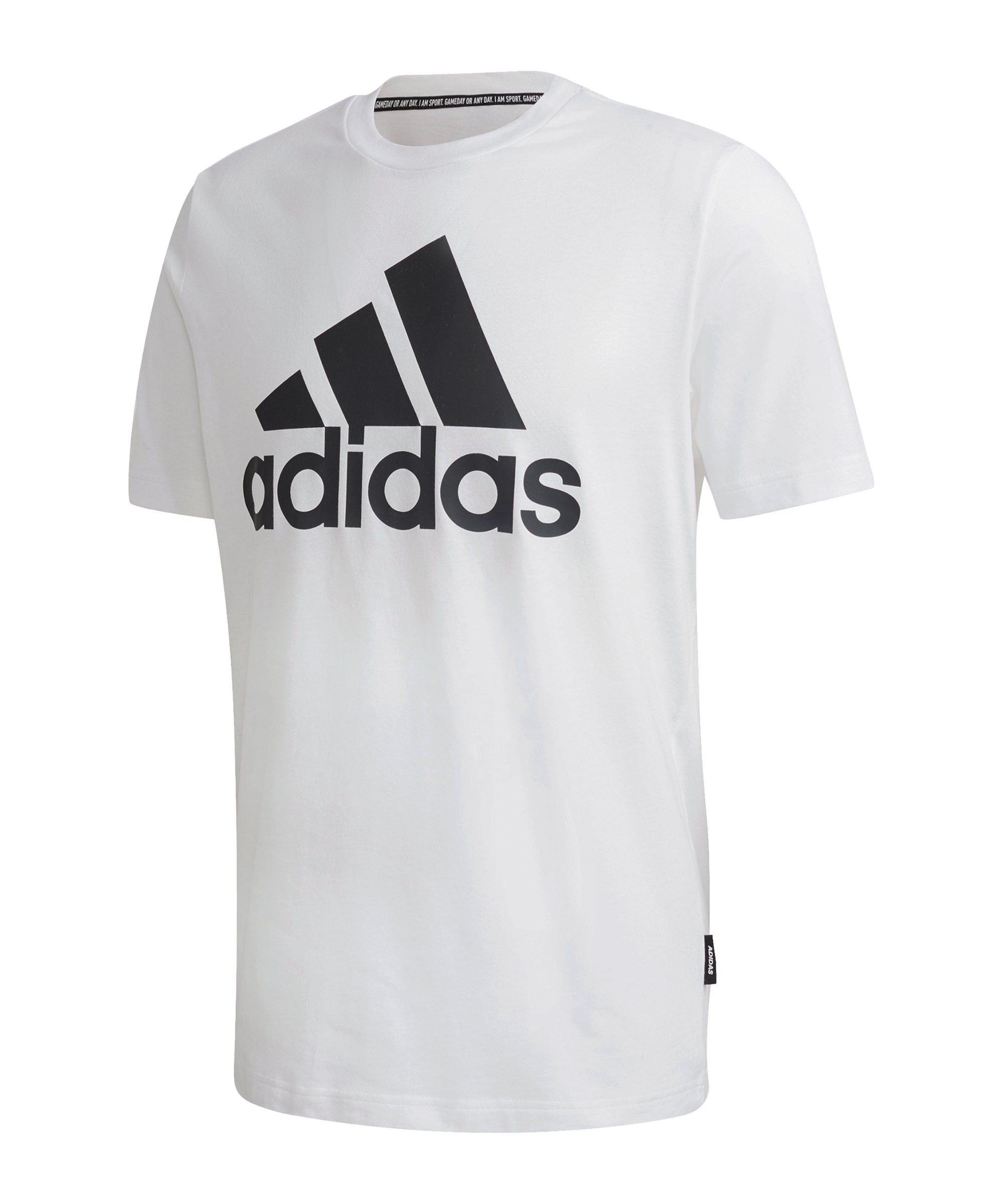adidas Must Haves Badge of Sport T-Shirt Weiss - weiss