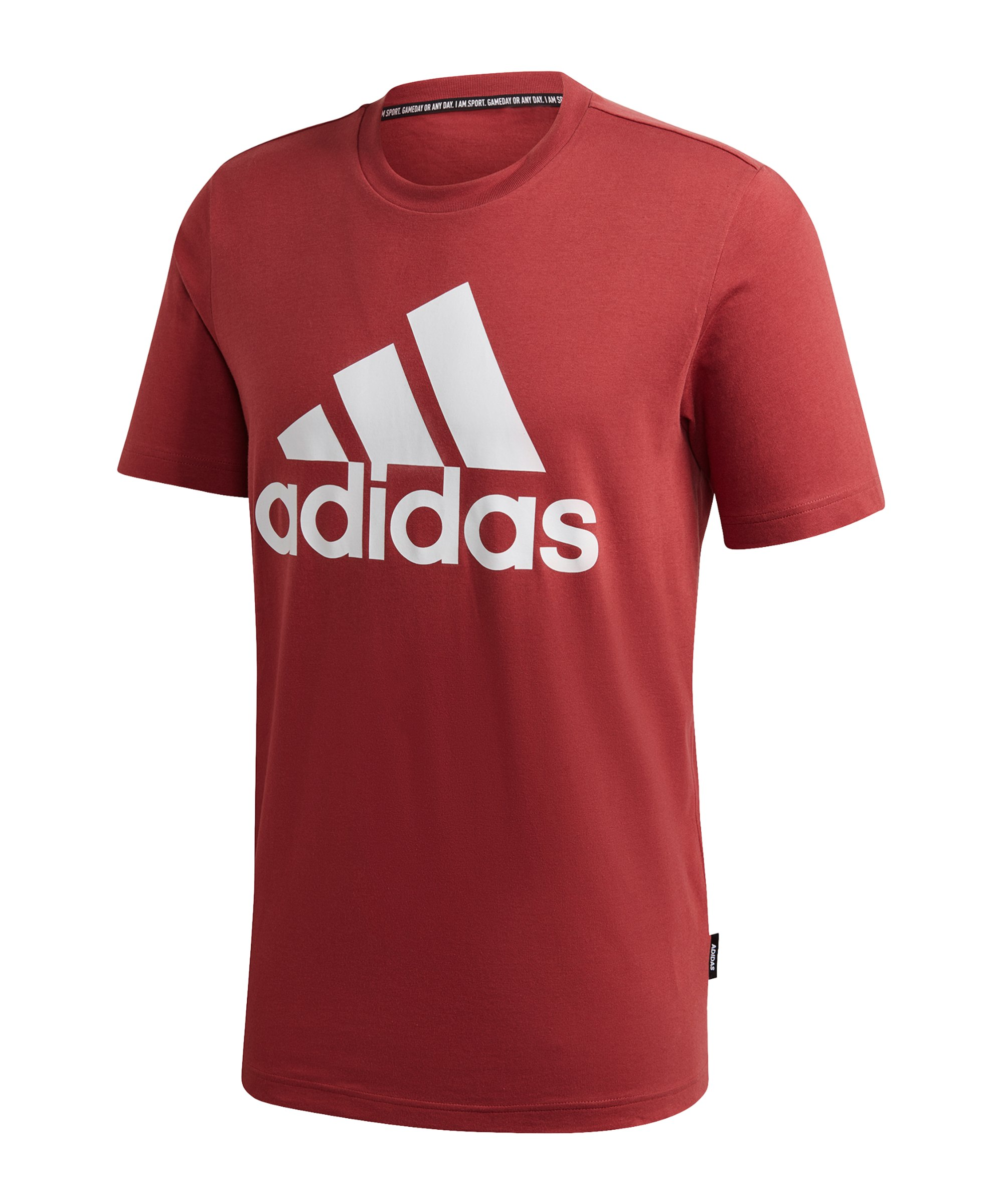 adidas Must Haves Badge of Sport T-Shirt Rot - rot
