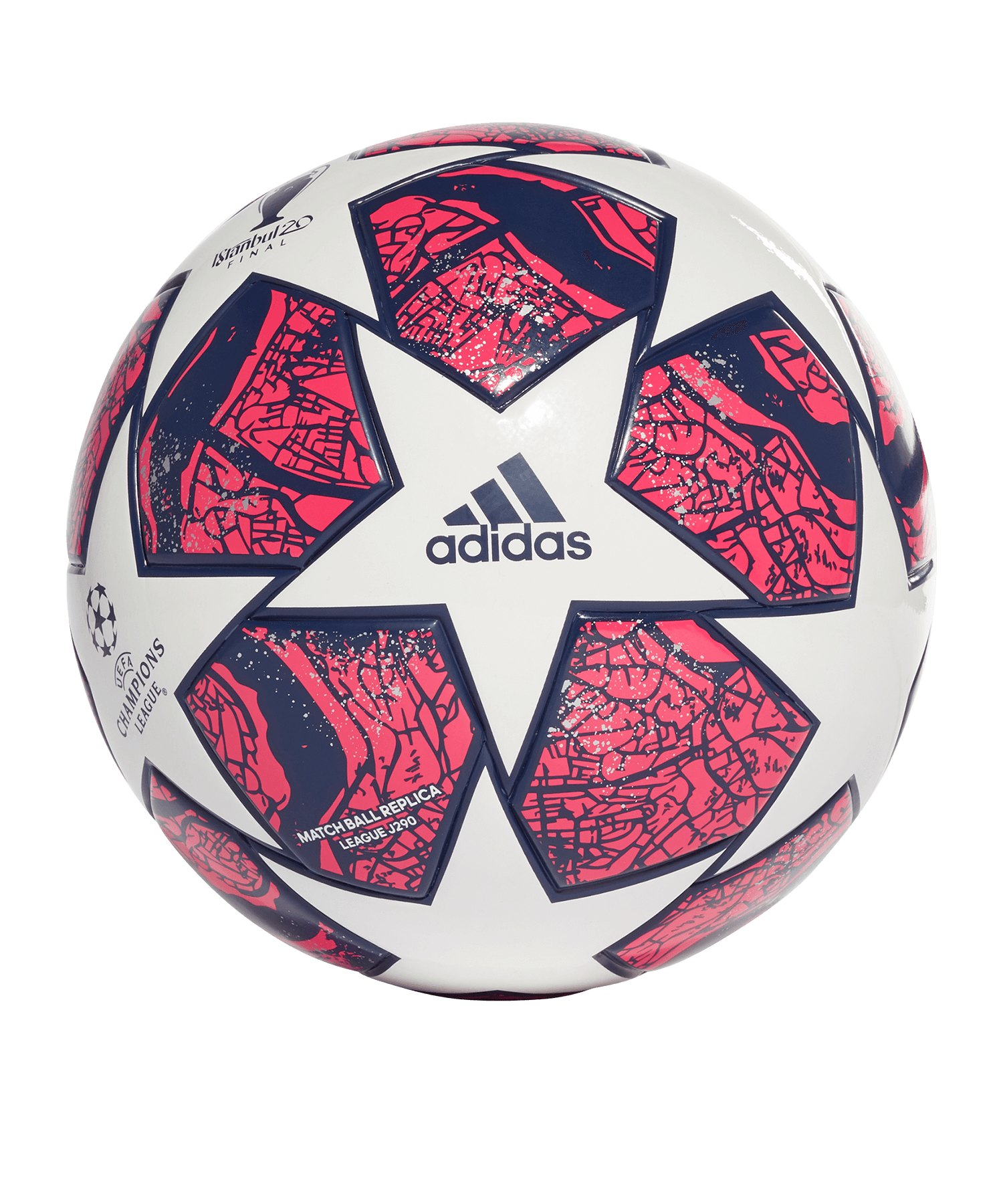 adidas Istanbul Champions League Finale Lightball 290 Weiss Blau - weiss