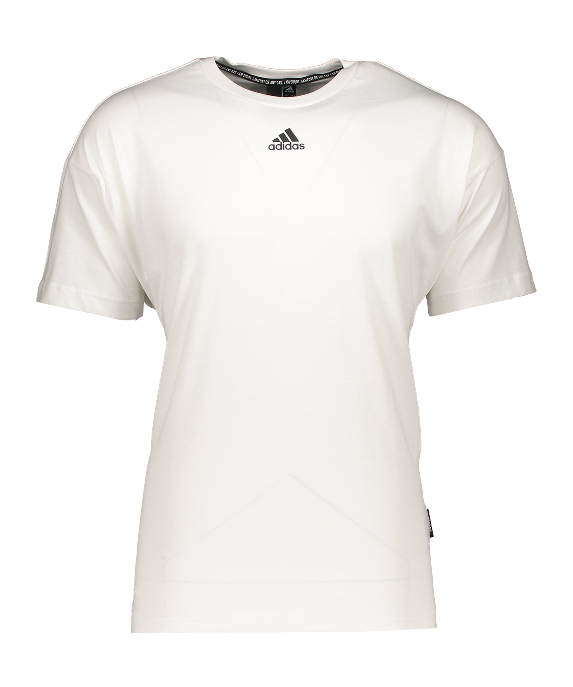 adidas Must Haves 3 Stripes T-Shirt Weiss - weiss