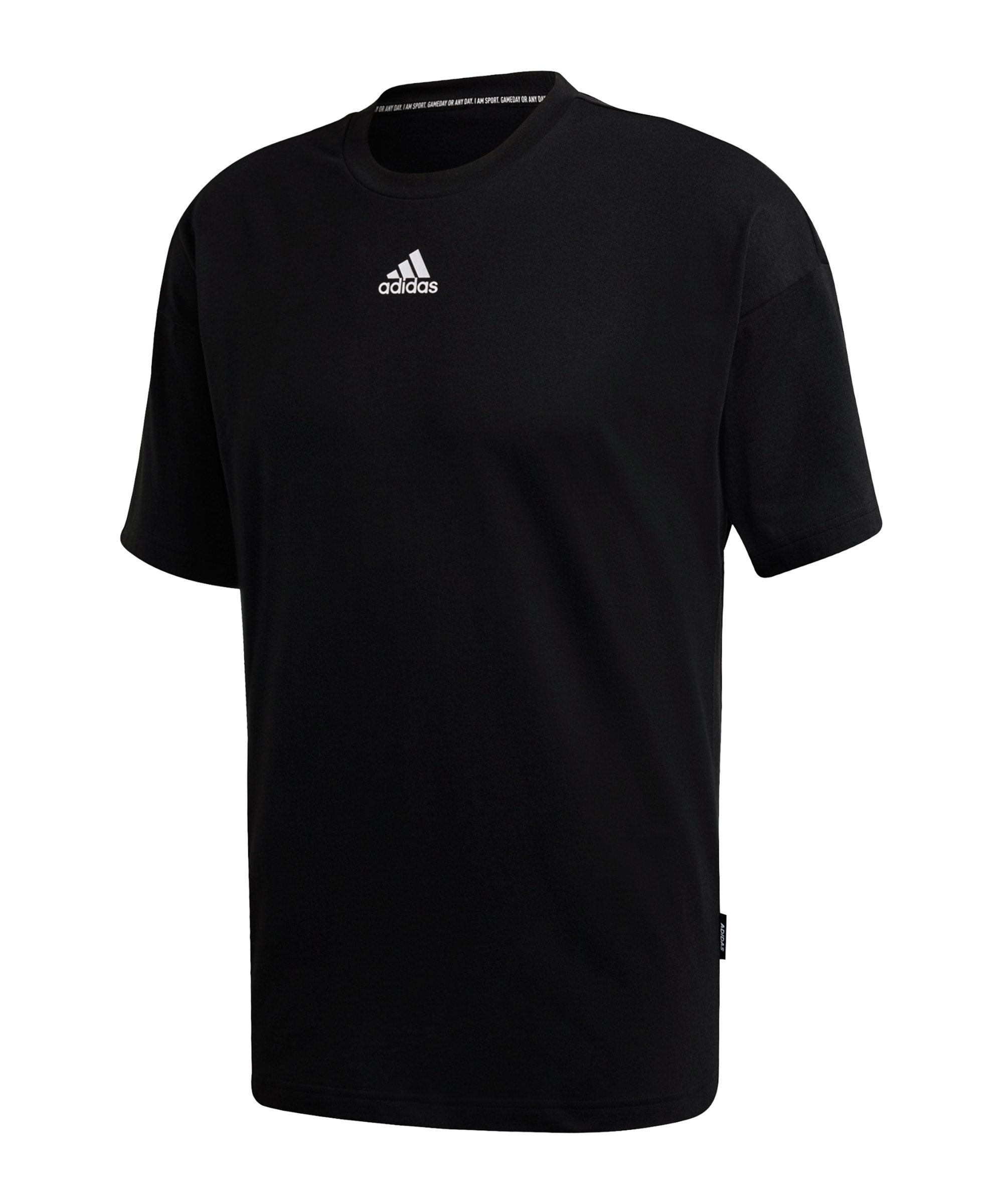 adidas Must Haves 3 Stripes T-Shirt Schwarz - schwarz