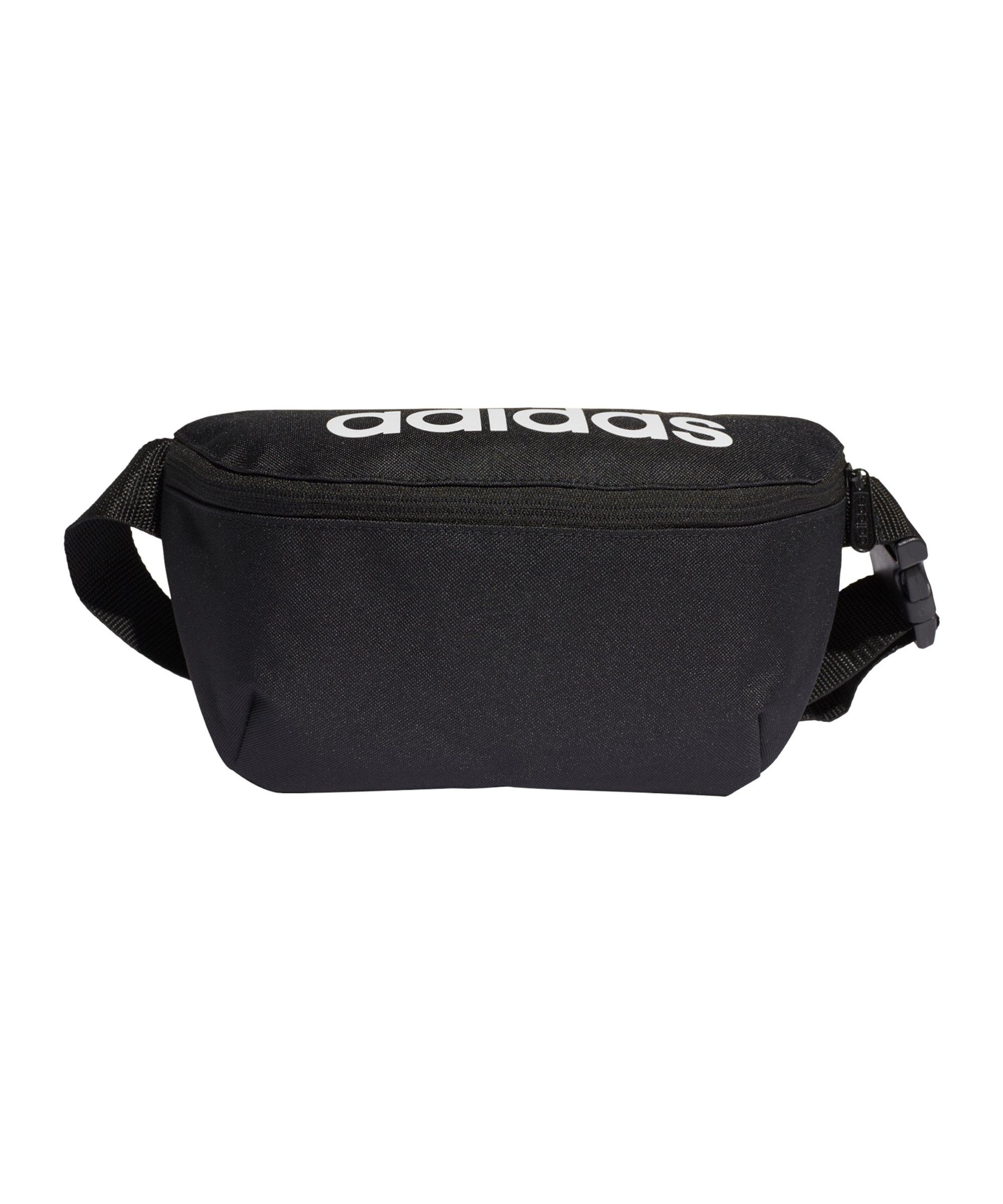 adidas Daily Hüfttasche Schwarz - schwarz