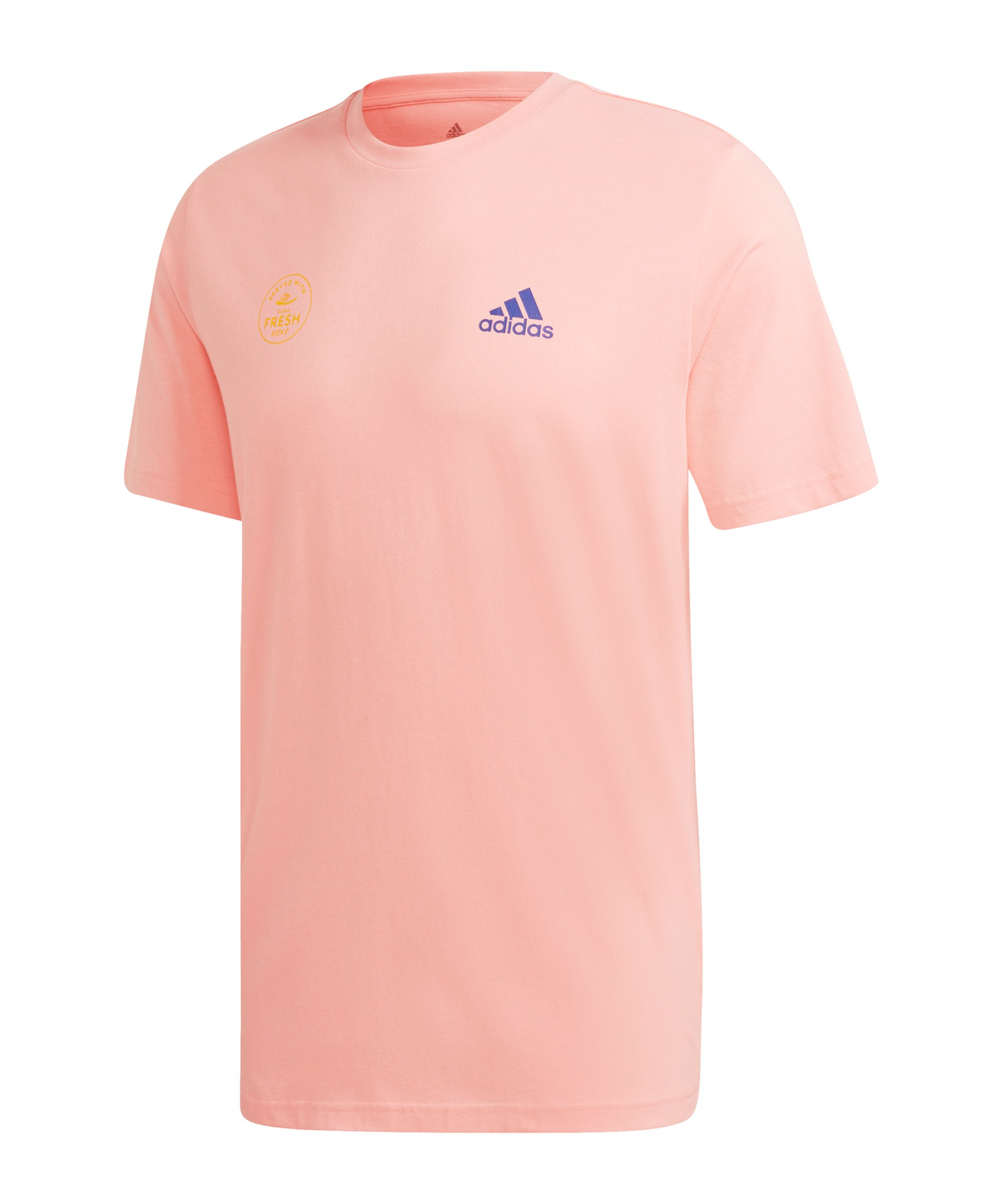 adidas Snack Photo Graphic T-Shirt Pink - pink
